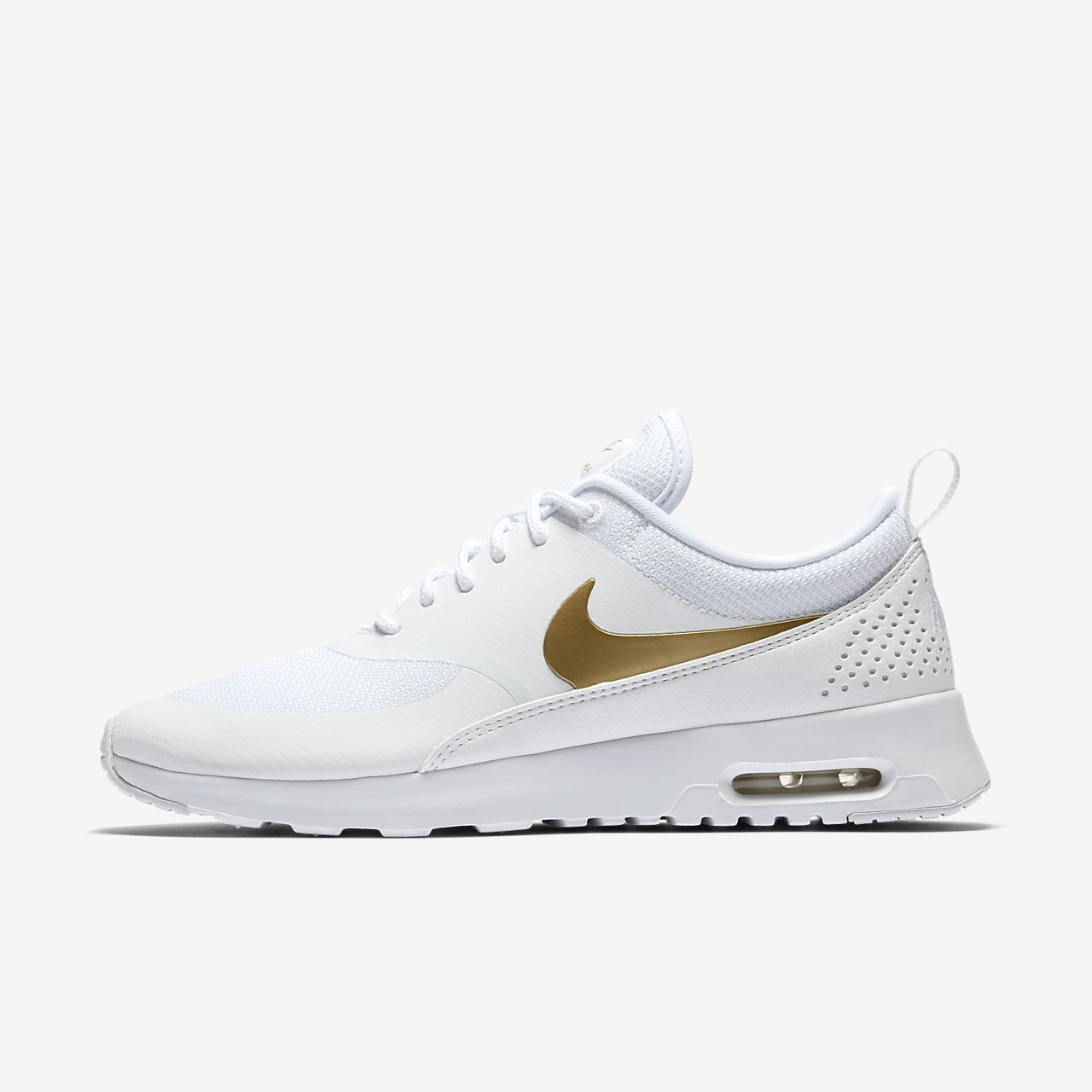 sports shoes a14b2 7713e new zealand nike air max thea kvinders guld b98e8 e49f9
