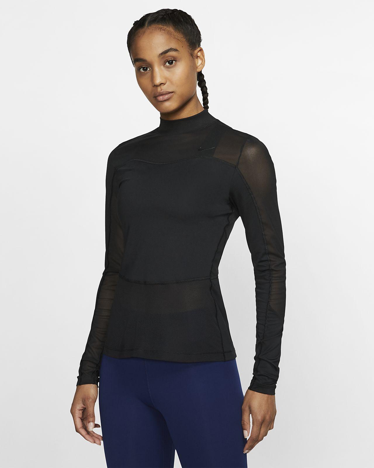 Maglia a manica lunga Nike Pro HyperCool - Donna