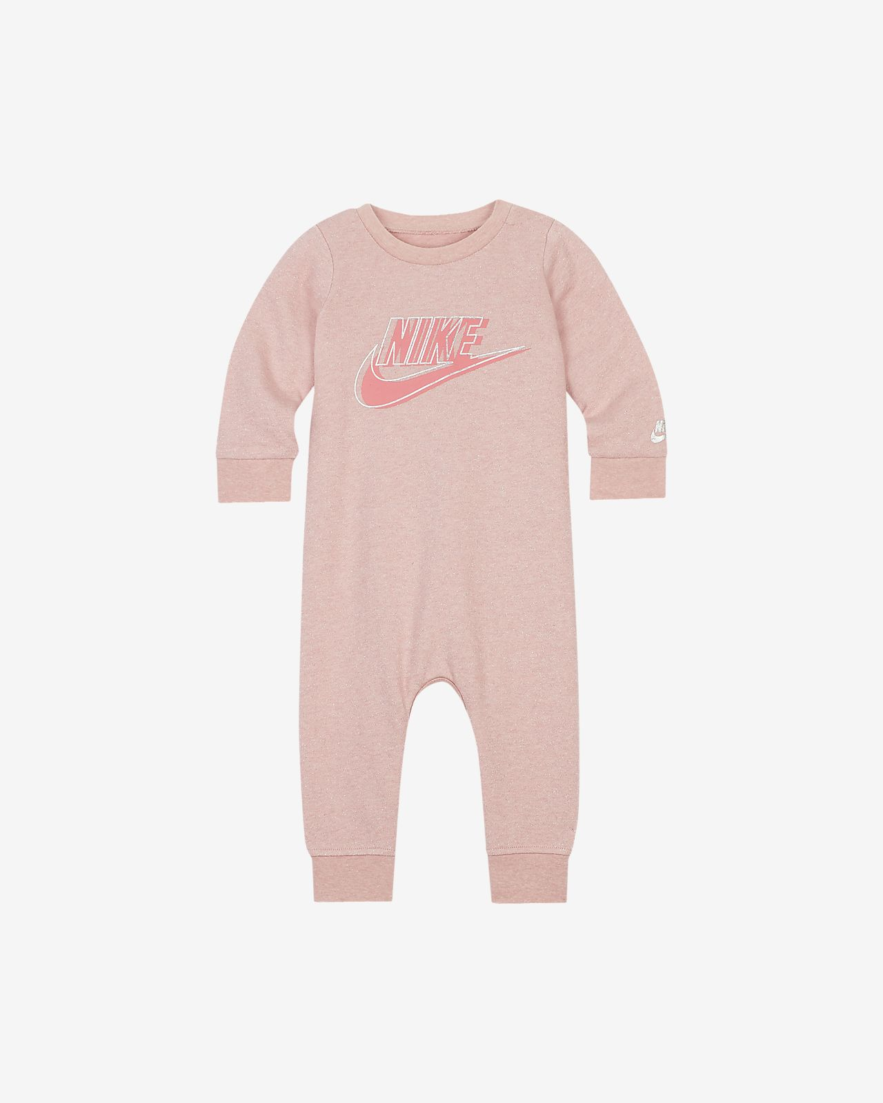Nike Baby (0-9M) French Terry Coverall