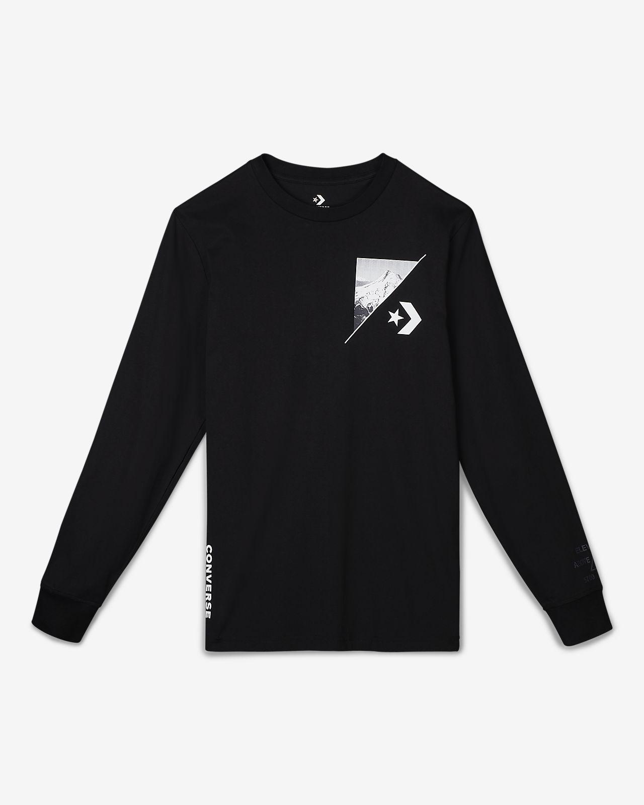 Converse Mountain Club  Men's Long-Sleeve T-Shirt