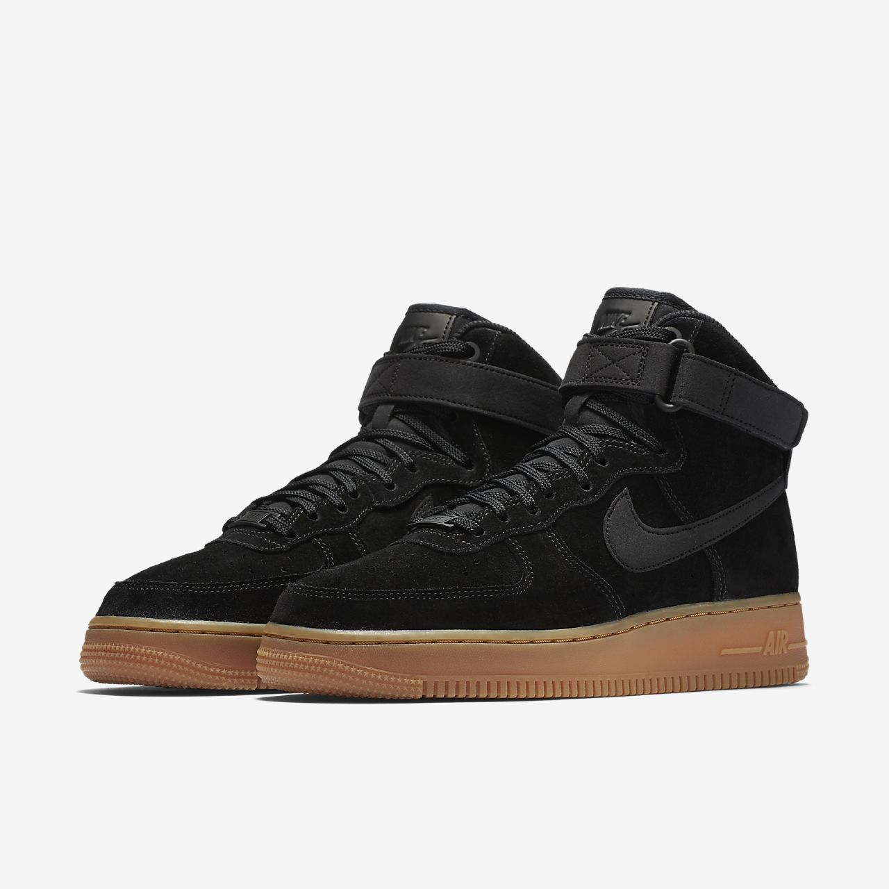 womens lunar nike air force 1 high black nz