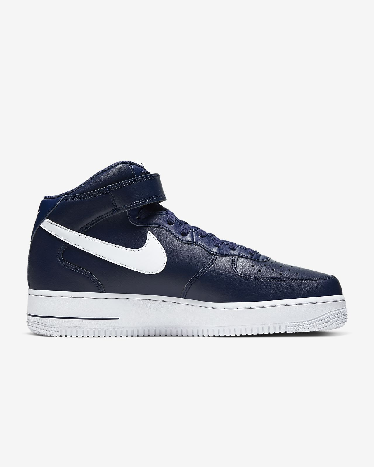 Nike Air Force 1 Mid Midnight Navy Sneakers Shoes