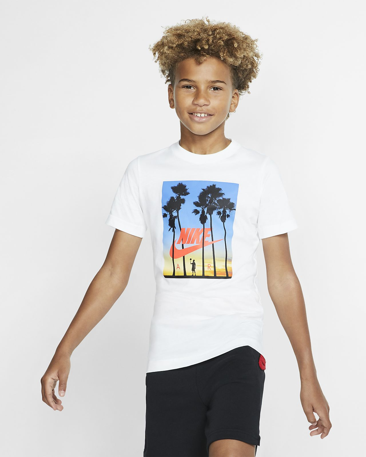 Nike Air-T-shirt til store børn