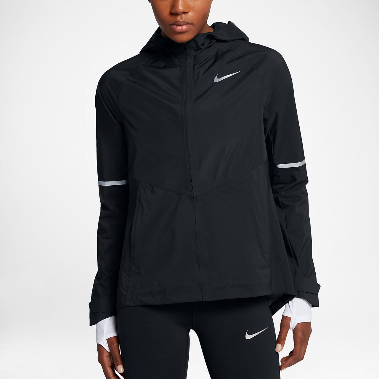 New Nike Zonal Aeroshield Hooded Jacket Black For Women Sale Online