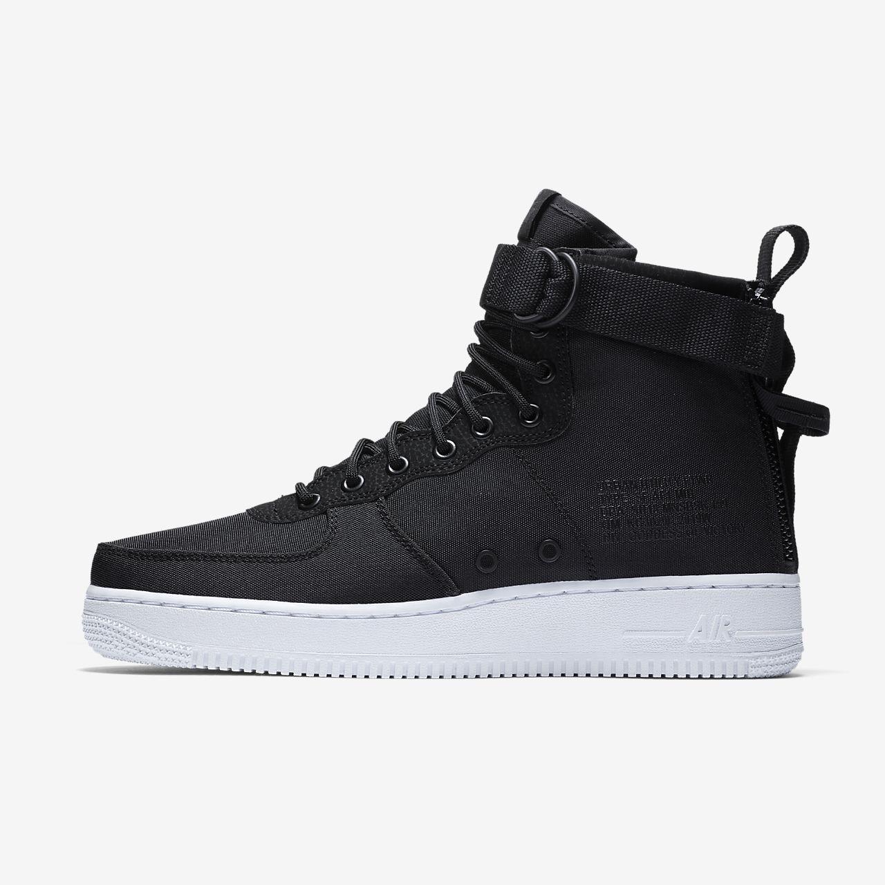 nike sf air force 1 mid shoe