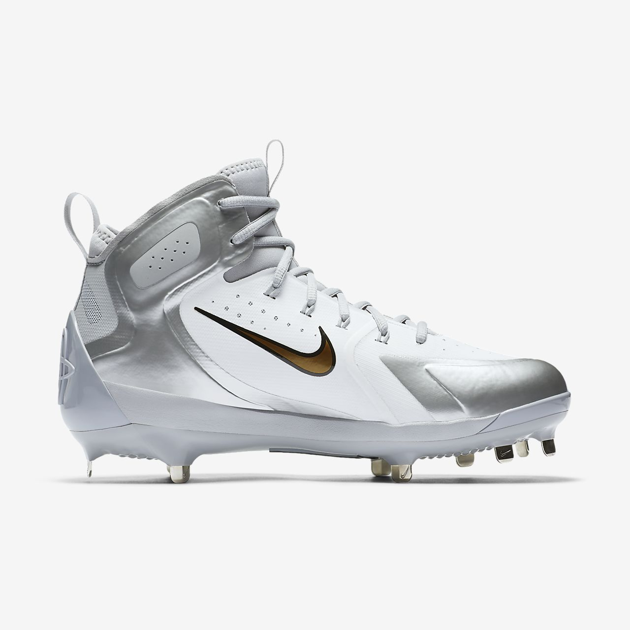 white and gold baseball cleats nike gym shoes womens