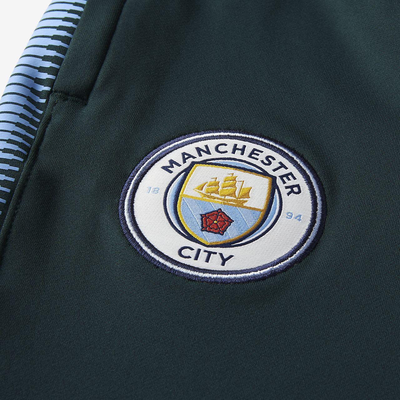 Manchester City Fc Dri Fit Squad Big Kids Football Pants