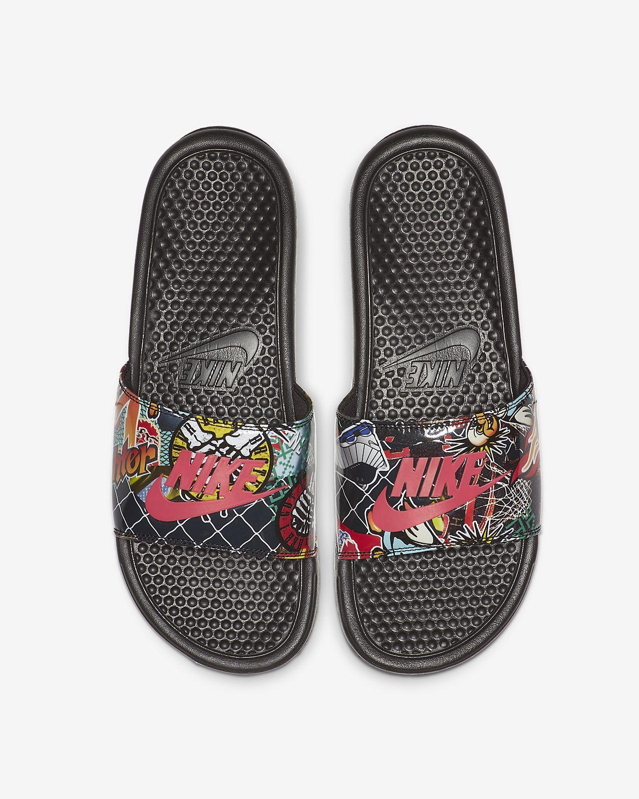 Nike Benassi JDI Print男子拖鞋