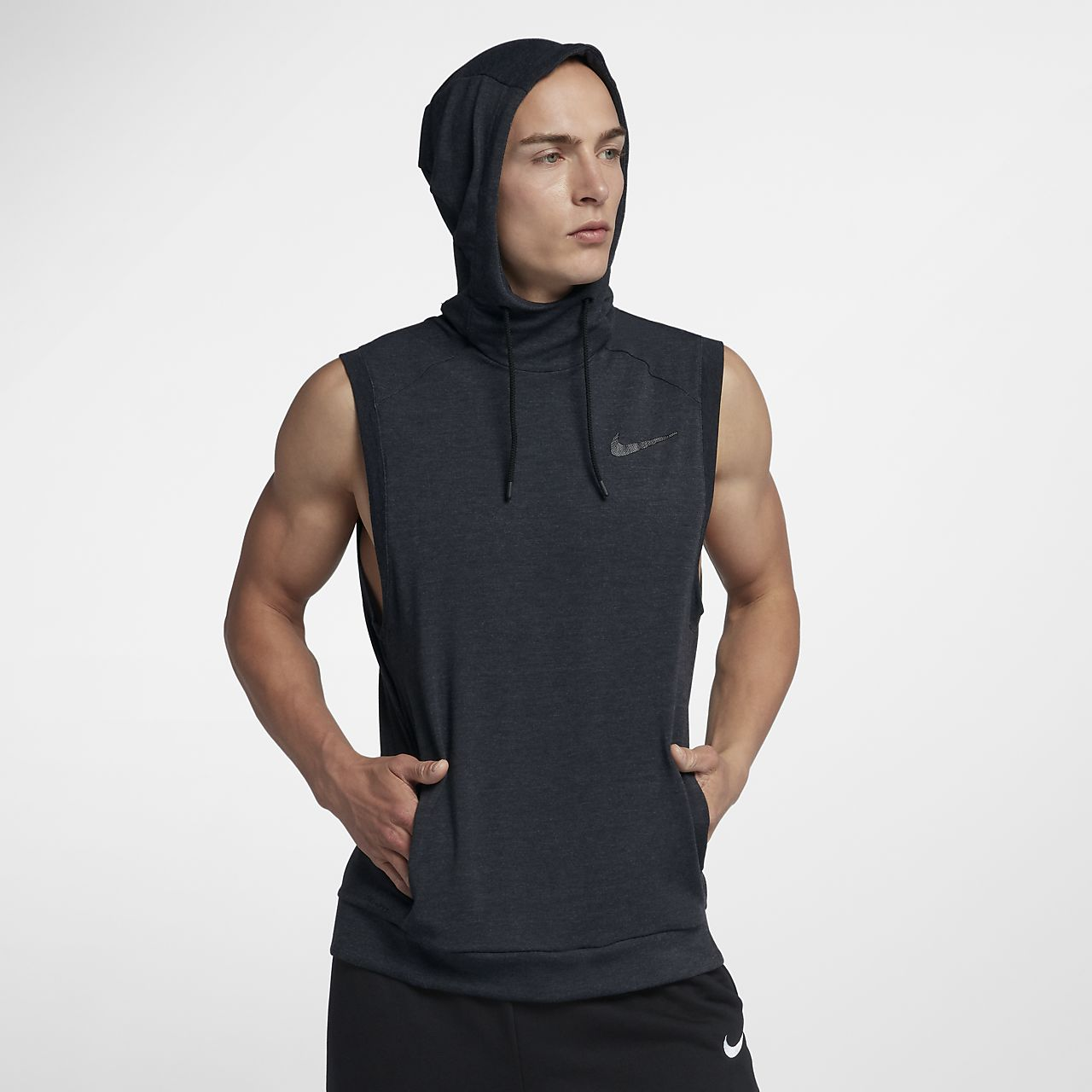 Nike Dri-FIT Men Sleeveless Training Hoodie