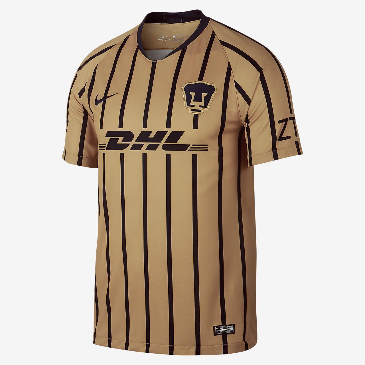 2018 19 Pumas UNAM Stadium Away Camiseta de fútbol - Hombre. Nike.com ES bf1b2f93b2444