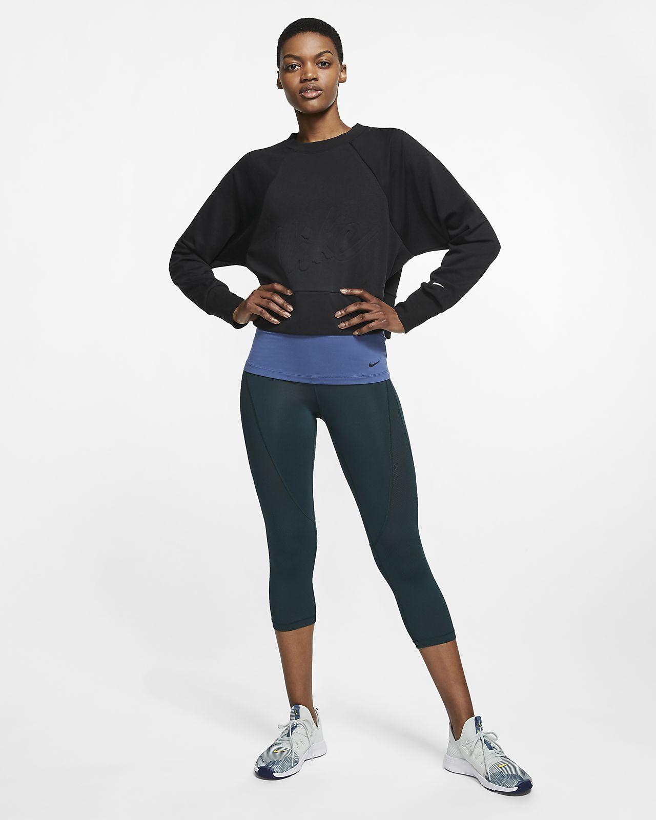 feb1a9e4 Nike Dri-FIT Get Fit treningsgenser i fleece til dame. Nike.com NO