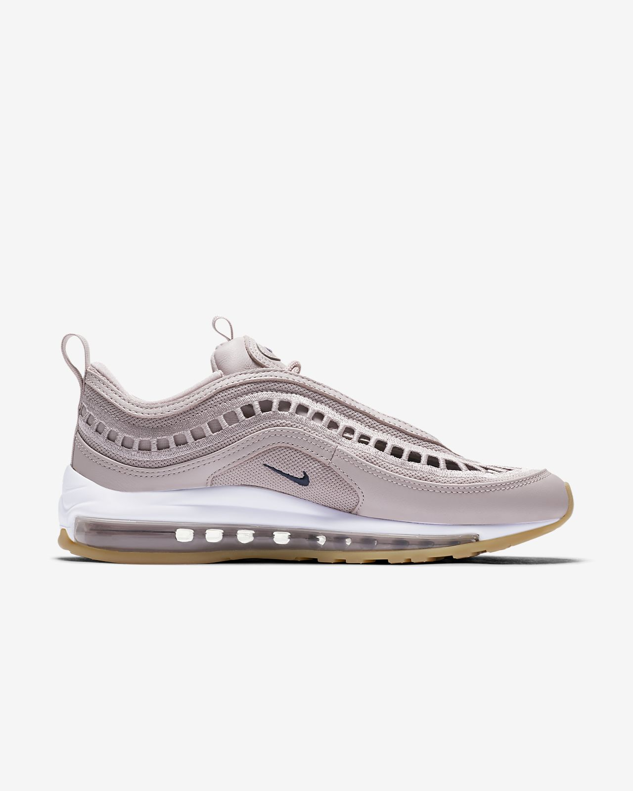 Nike Air Max 97 Ultra '17 SI Particle RoseSummit WhiteGum YellowNeutral Indigo, Lifestyle Donna