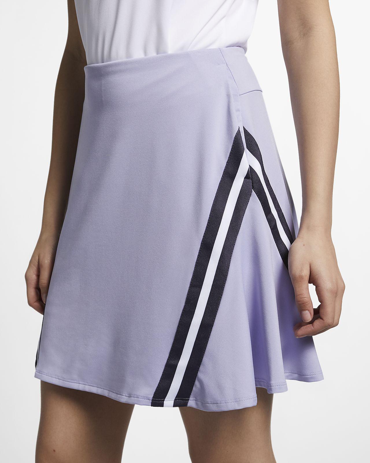 Saia de golfe de 43 cm Nike Dri-FIT UV para mulher