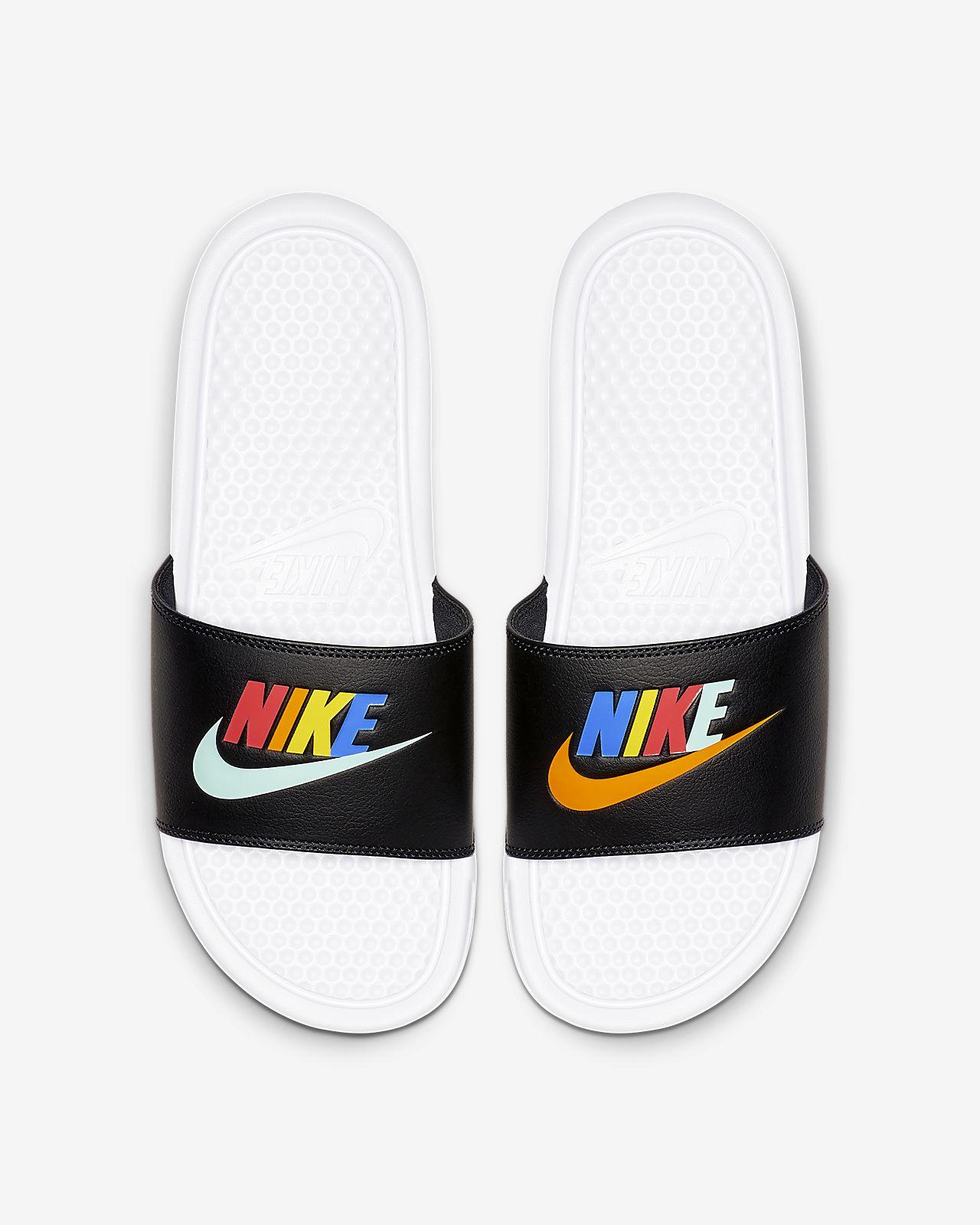 NikeBenassi JDI Mismatch 男子拖鞋