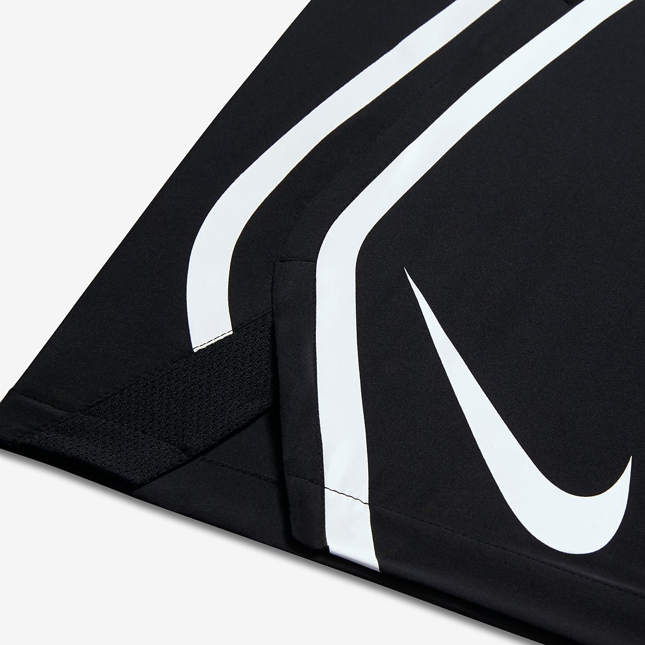 Nike Untouchable Woven Black Light Crimson White Mens Shorts N276P