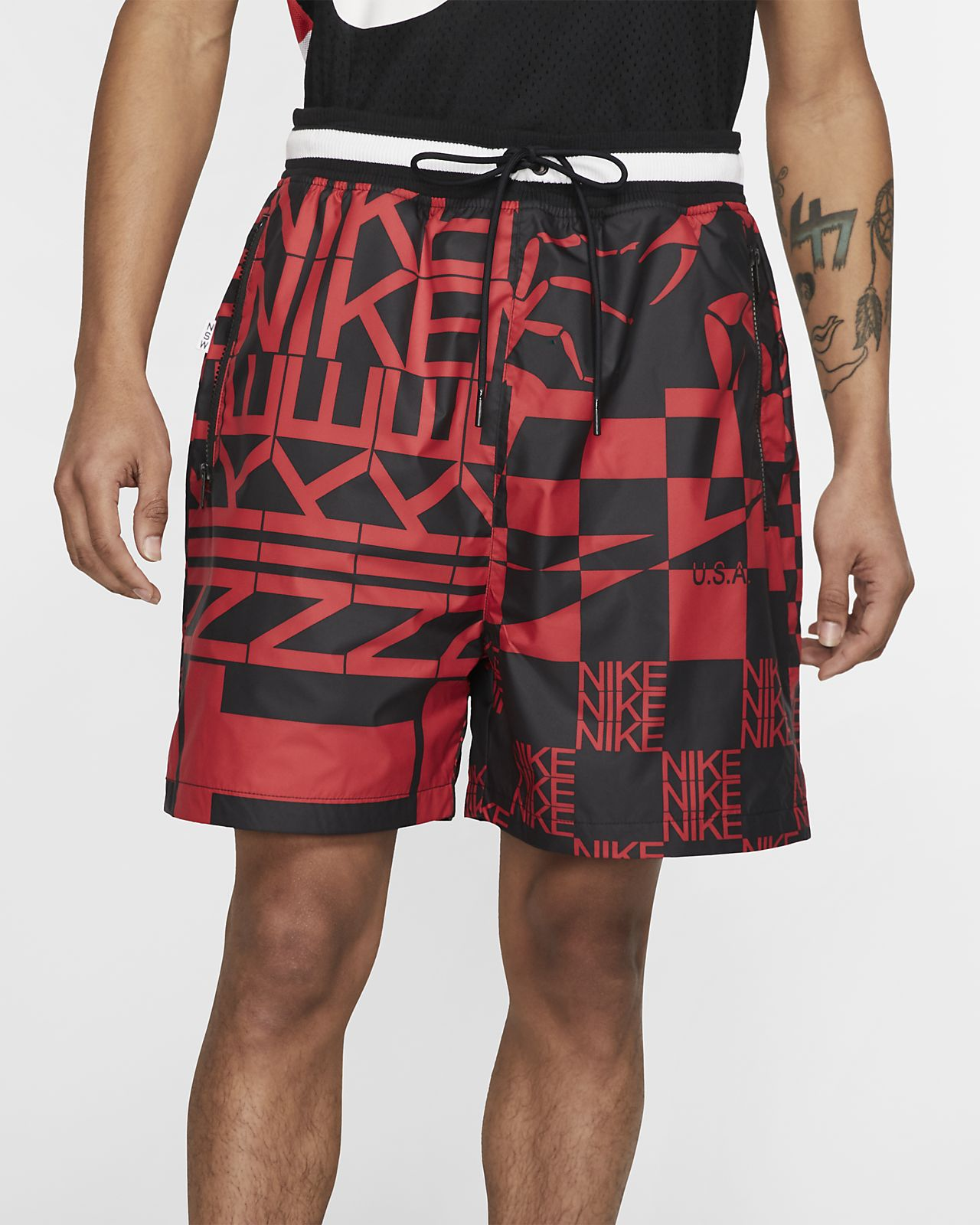 Nike Sportswear Pantalón corto con estampado
