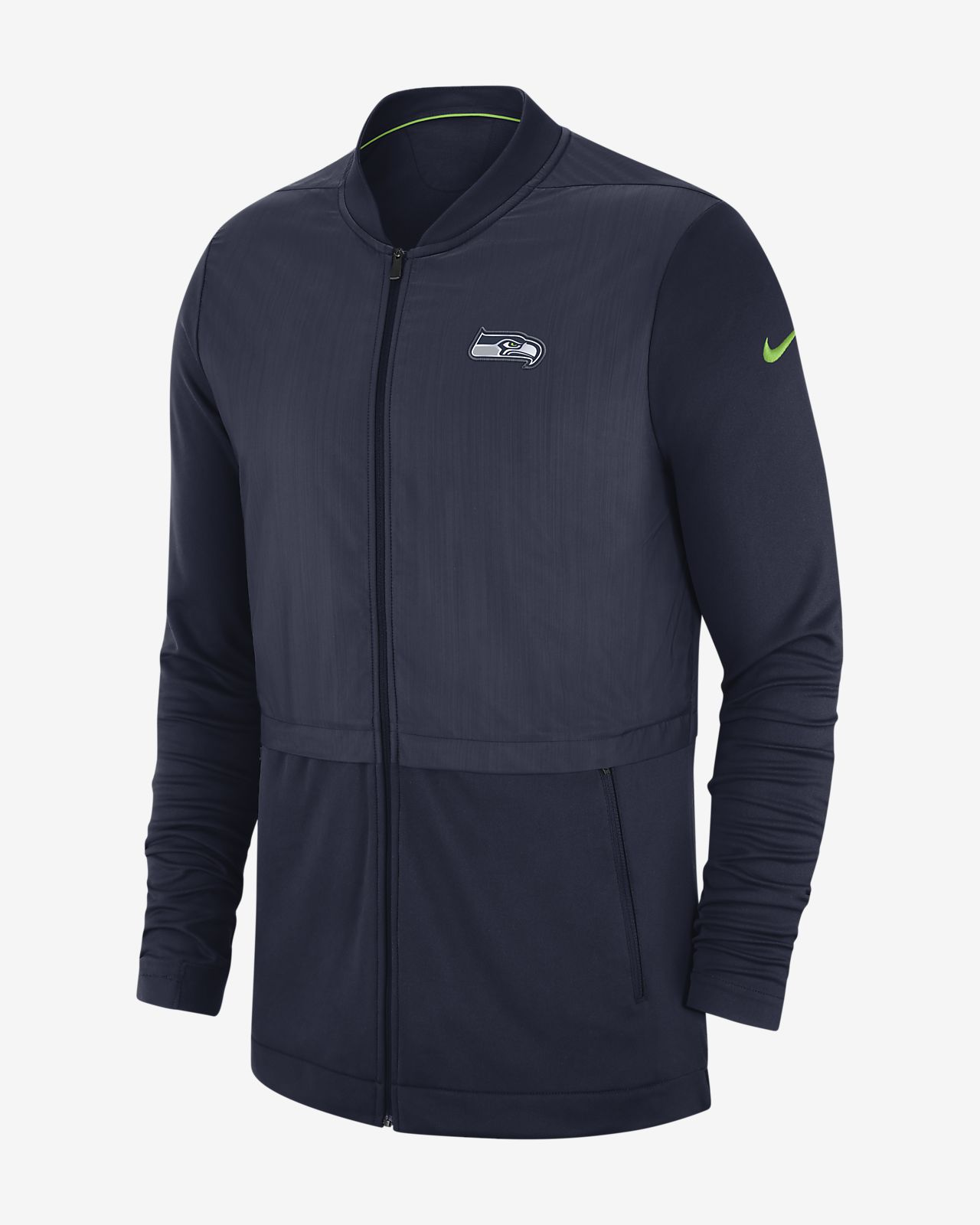 1fce5042fd26 Nike Elite Hybrid (NFL Seahawks) Men s Full-Zip Jacket. Nike.com