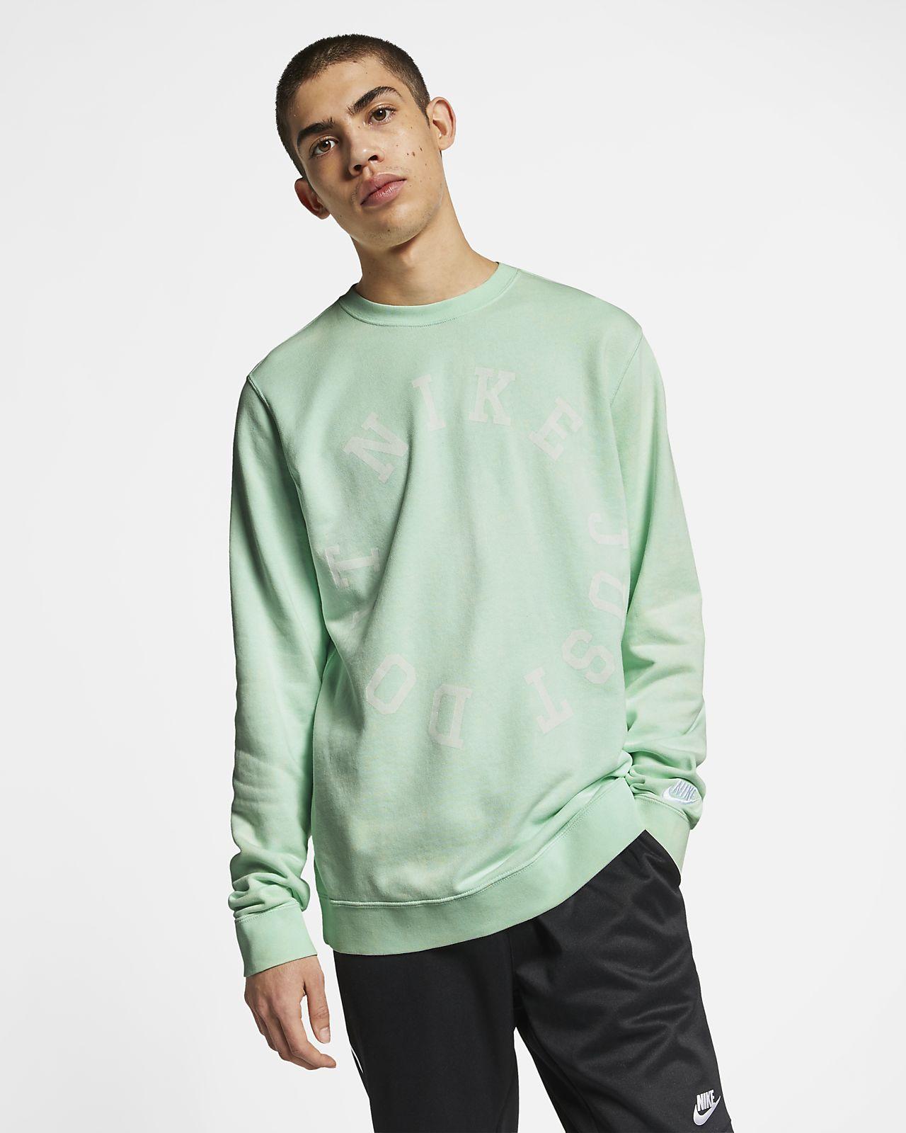 Nike Sportswear Herren-Rundhalsshirt aus French-Terry