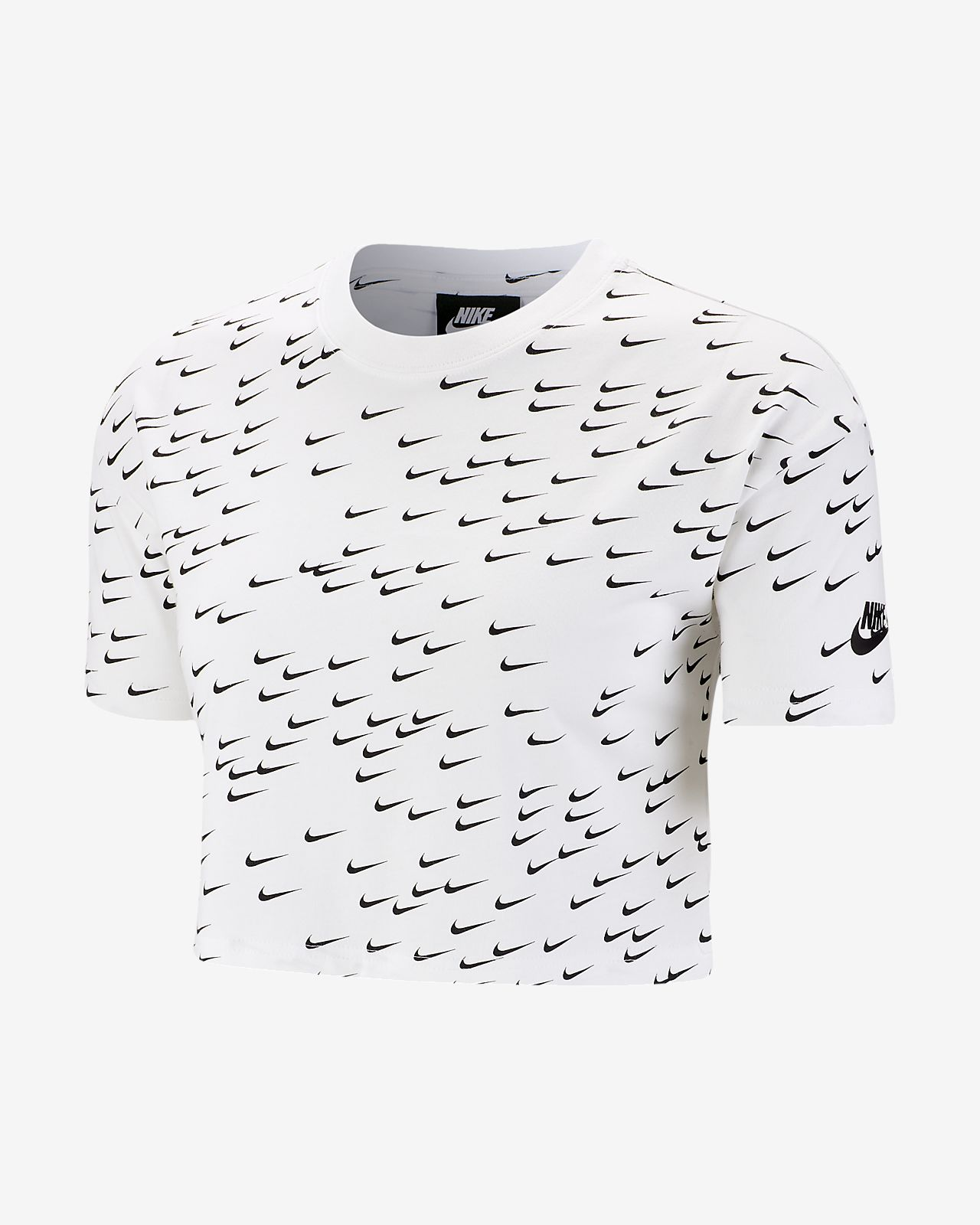 40399e9ebdb0a7 Nike Sportswear Essential Women s Short-Sleeve Crop Top. Nike.com