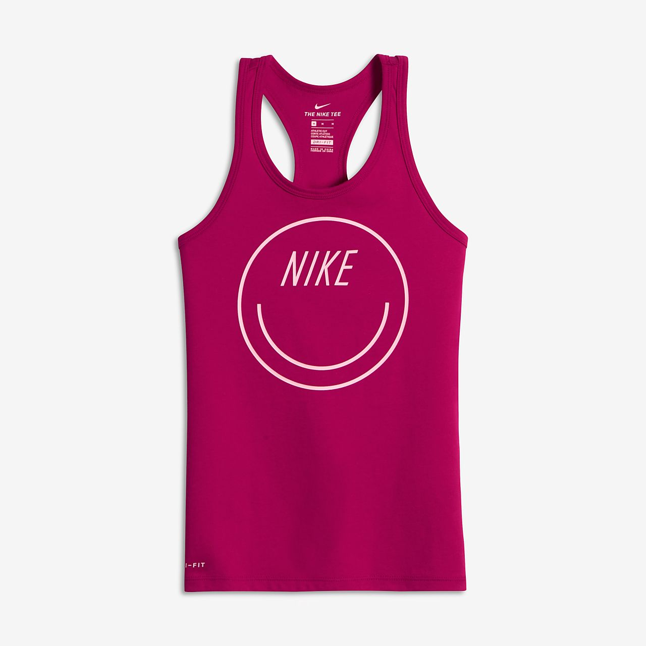 ... Nike Dry Smiley Big Kids' (Girls') Tank