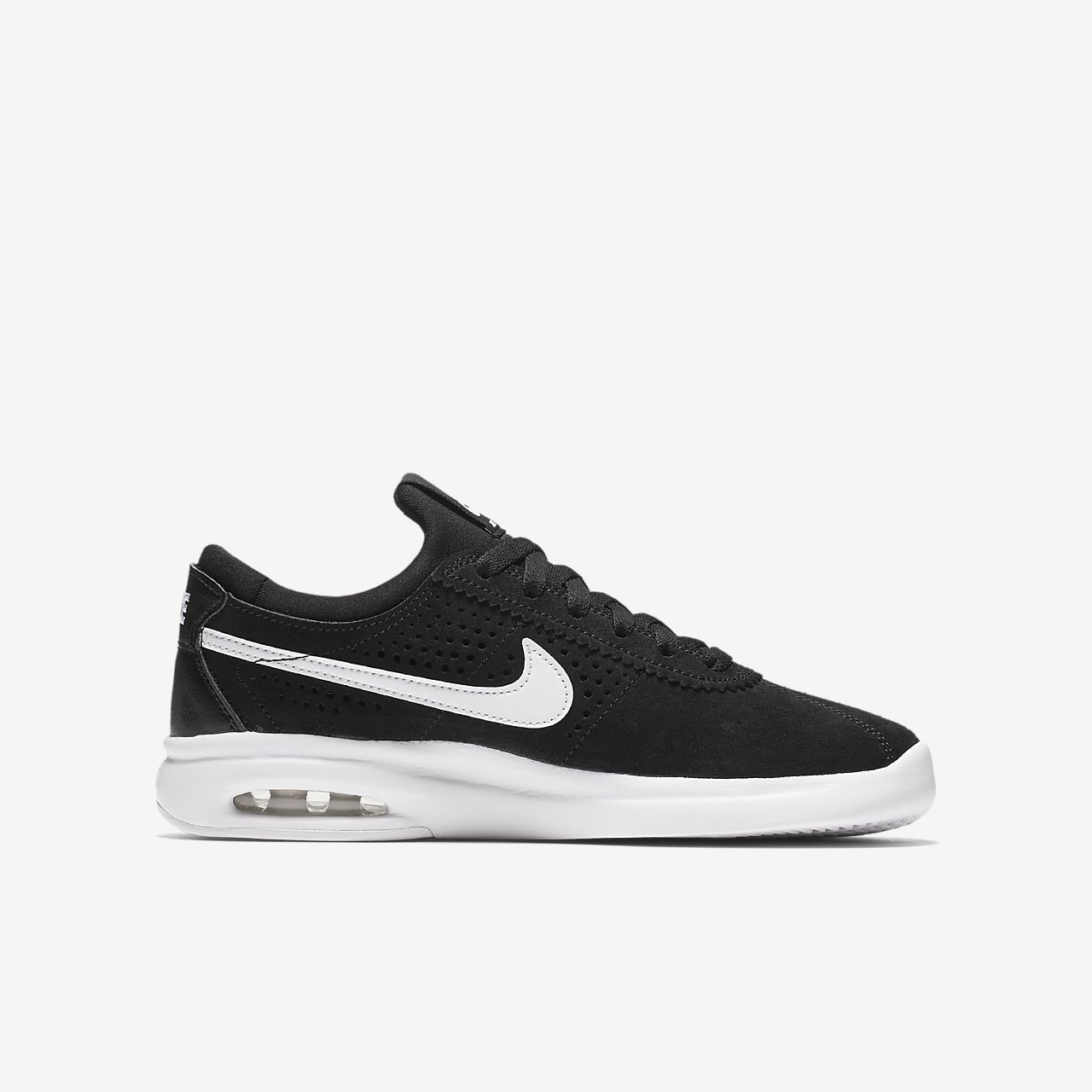 Nike SB Air Max Bruin Vapor Men's Skateboarding Shoes White iU3465O