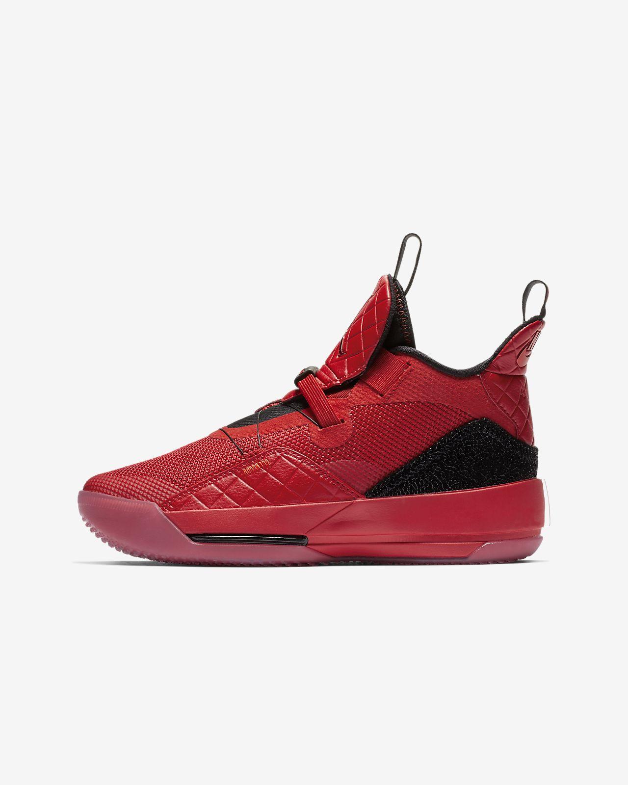 Air Jordan XXXIII Genç Çocuk Basketbol Ayakkabısı