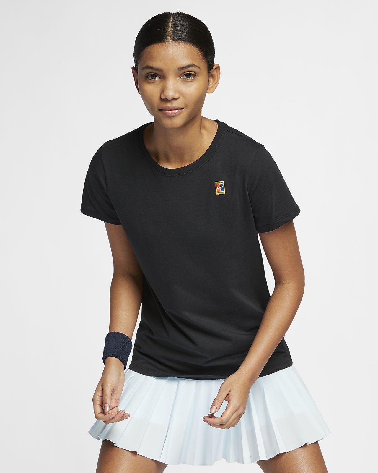 new arrival 47761 d1199 ... NikeCourt-tennis-T-shirt til kvinder