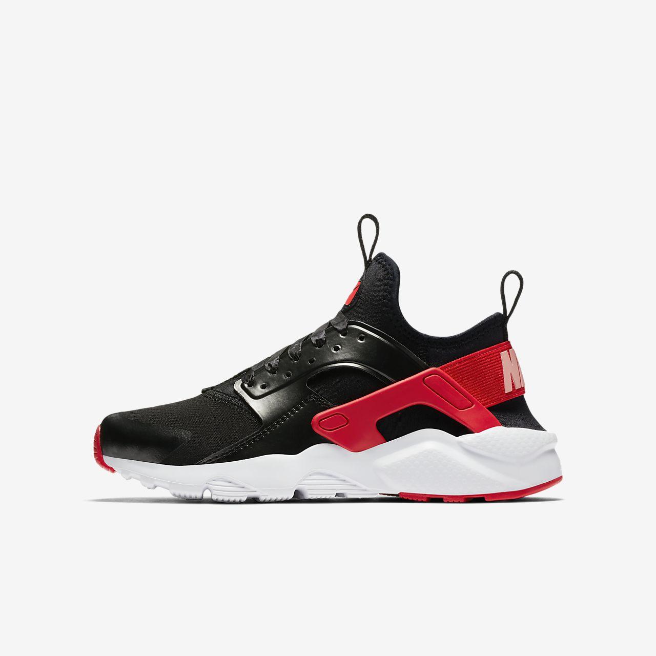 ... Calzado para niños talla grande Nike Air Huarache Run Ultra QS