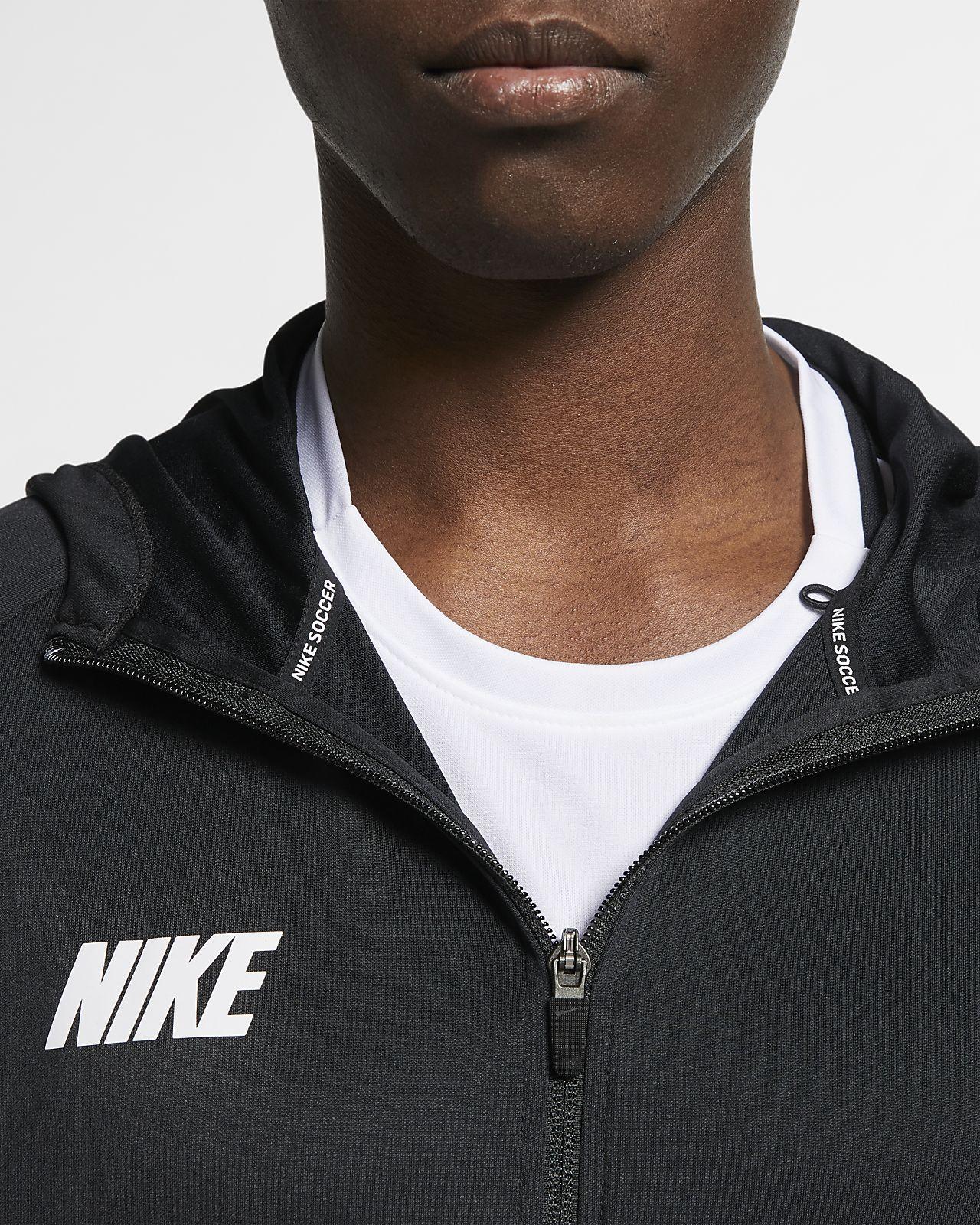 Herren Squad Mit Reißverschluss Nike Dri Fußballjacke Fit Durchgehendem OXZuPikT