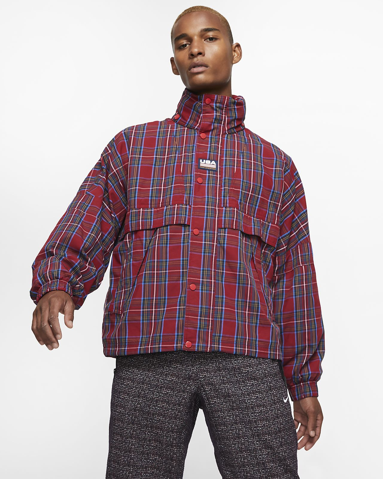 Nike Men's Checked Jacket