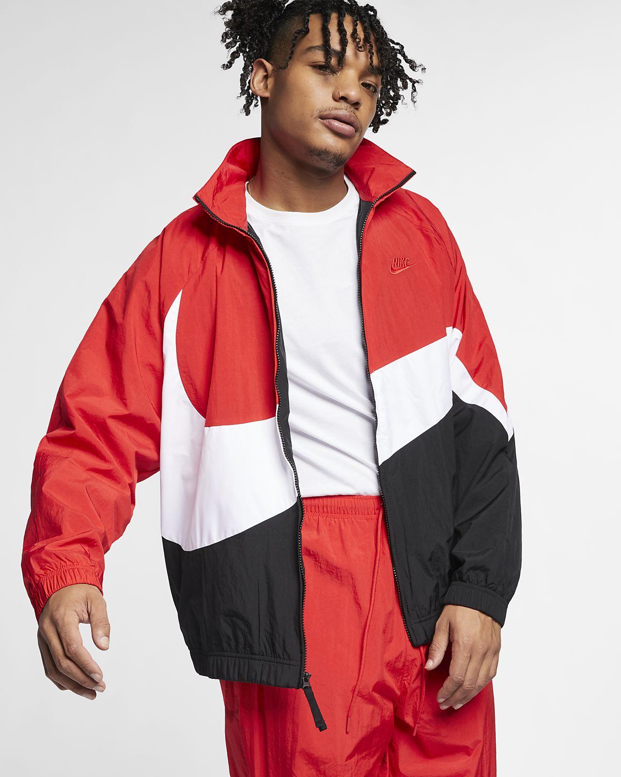 """Nike Sportswear """"Swoosh"""" Dokuma Rüzgarlık"""