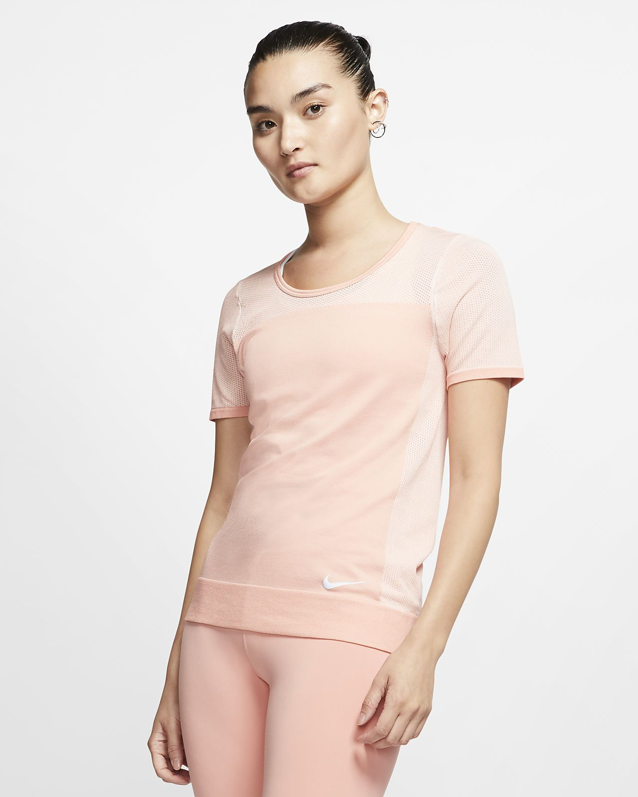 Nike Infinite Hardlooptop met korte mouwen voor dames