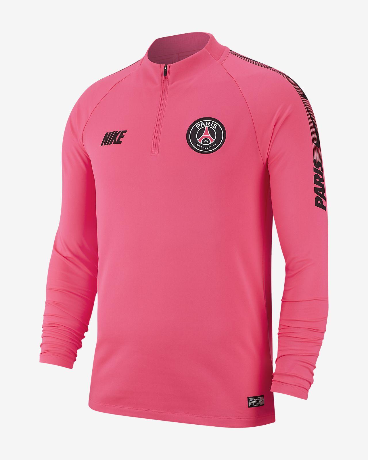 Top de fútbol de manga larga para hombre Paris Saint-Germain Dri-FIT Squad Drill