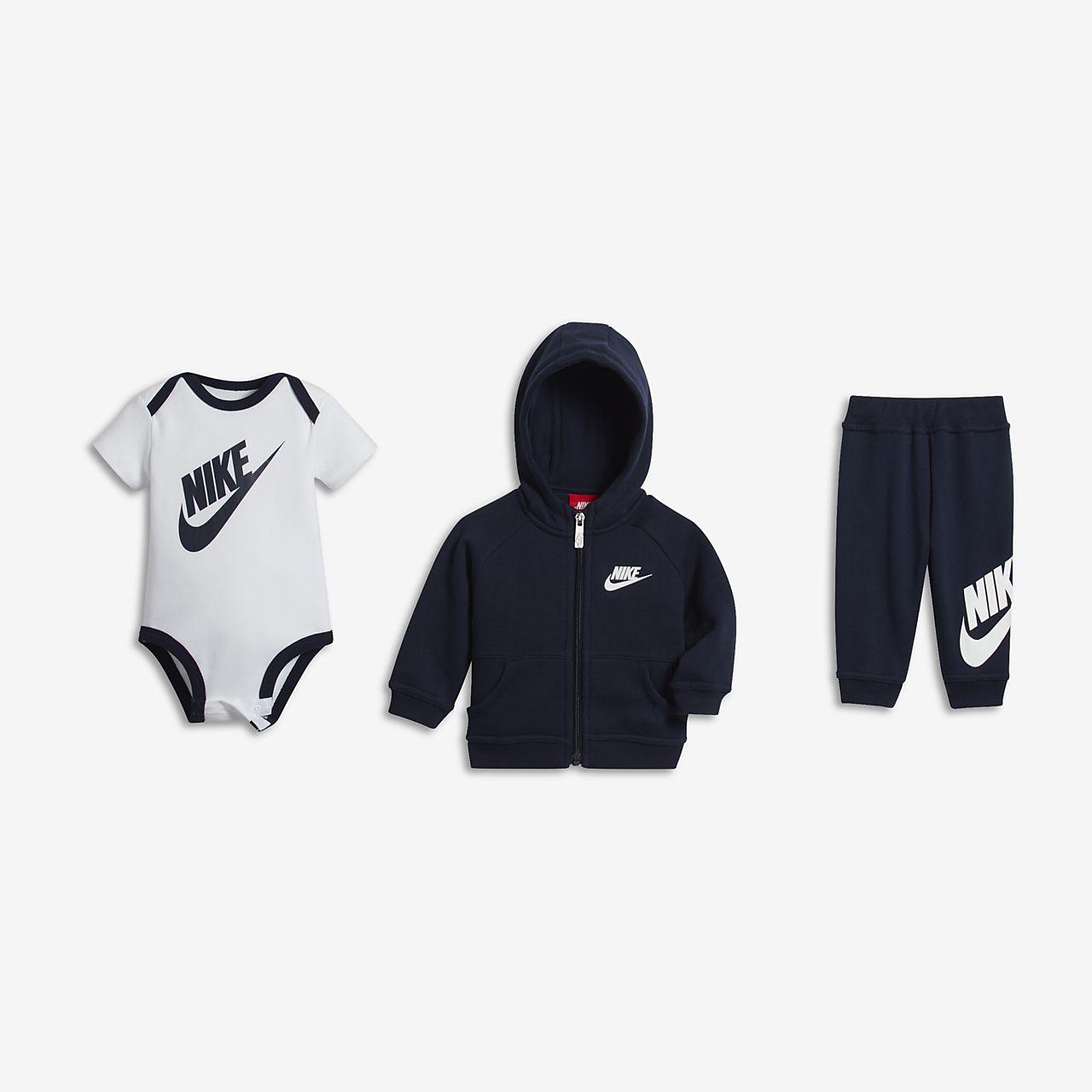 Coffret Be Garçon Futura Bébé Pour Nike Three Piece Cadeau FvwrqgzF