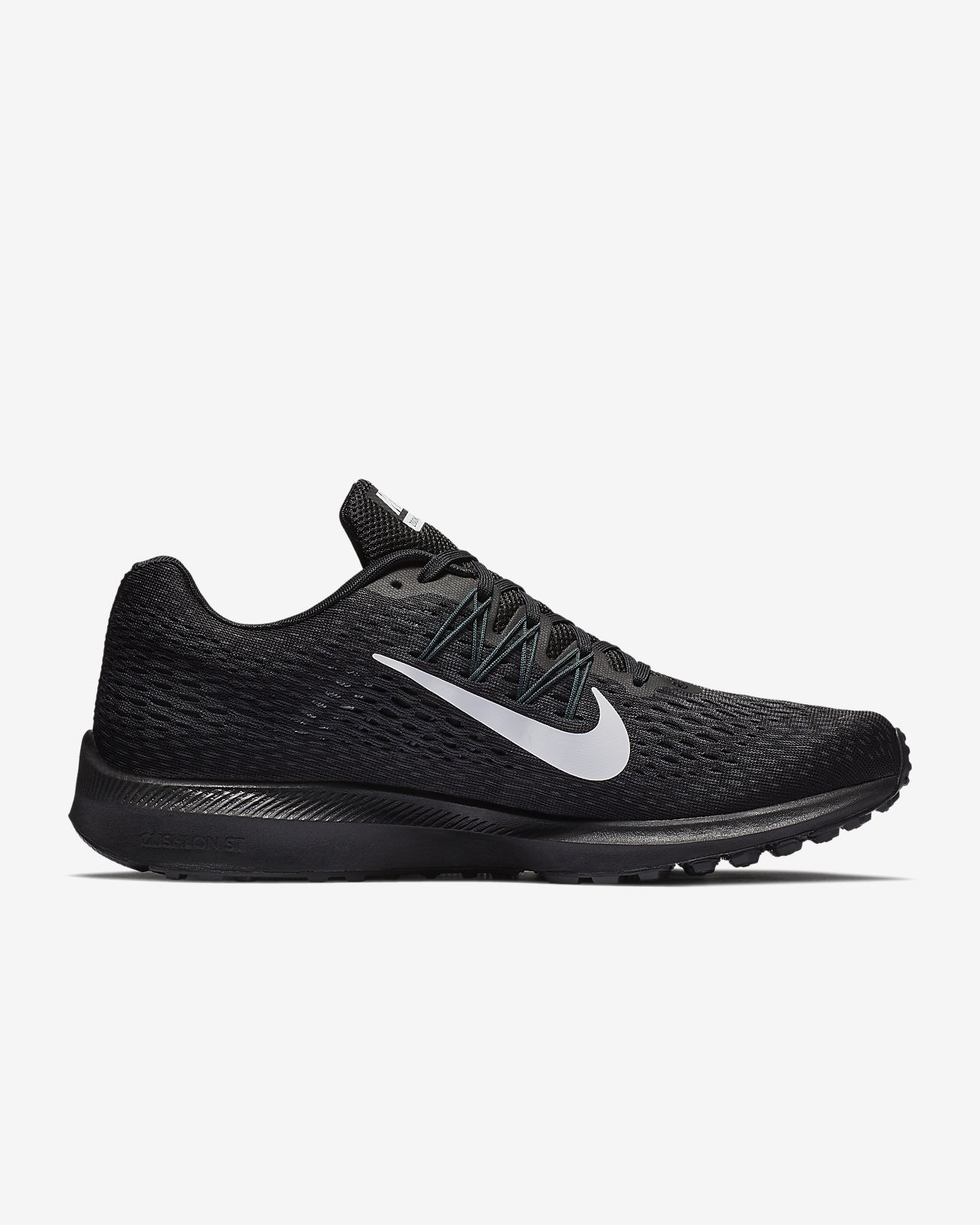 bcf469899dba netherlands nike mens zoom winflo 4 running shoes white black wolf grey  a35bf 15780  50% off nike air zoom winflo 5 bda5c 9bd14