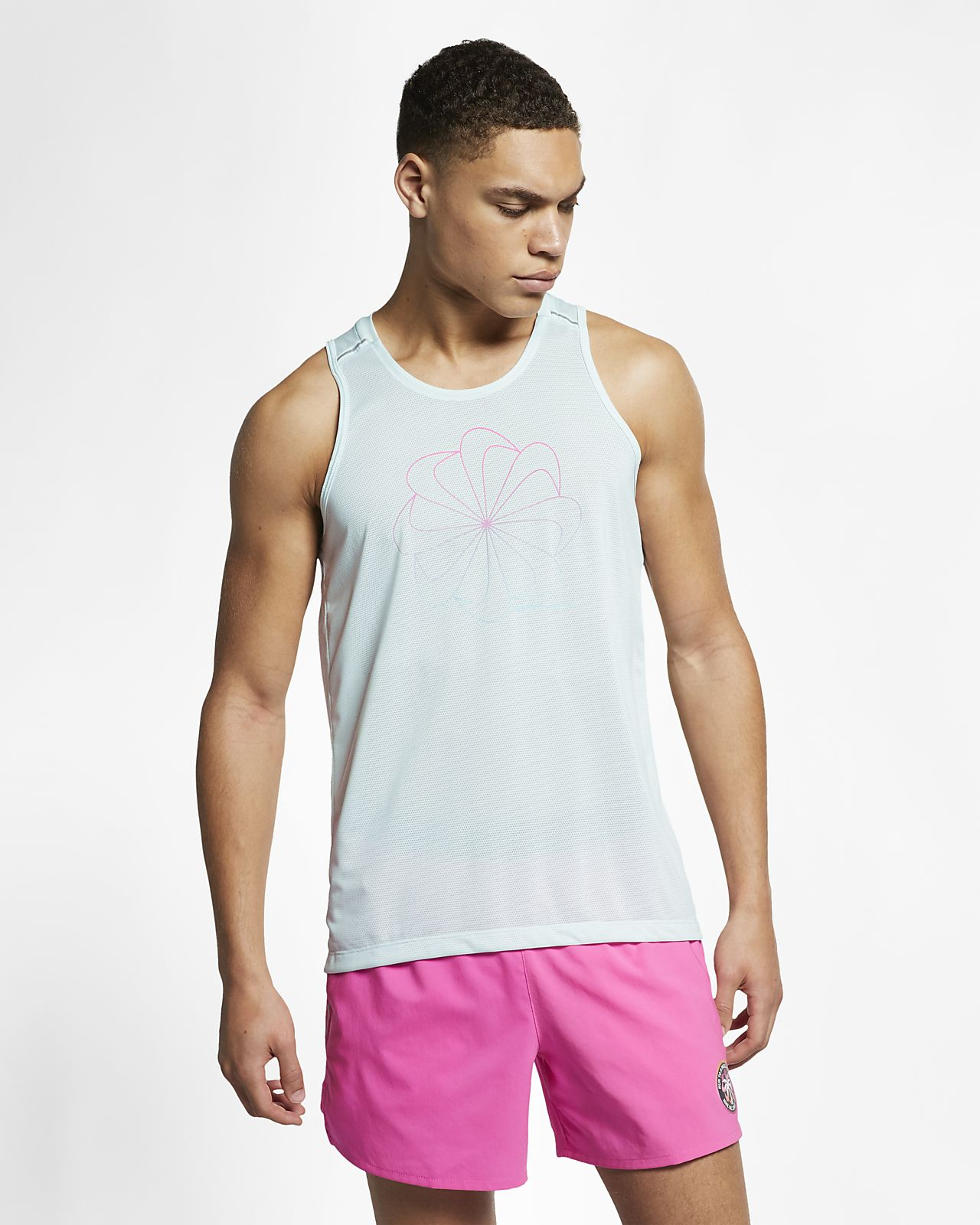 Nike Miler Men's Graphic Running Tank