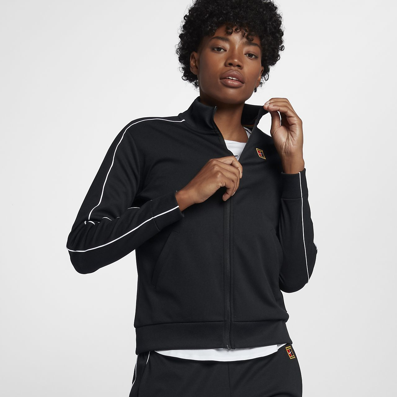 NikeCourt Damen-Tennisjacke