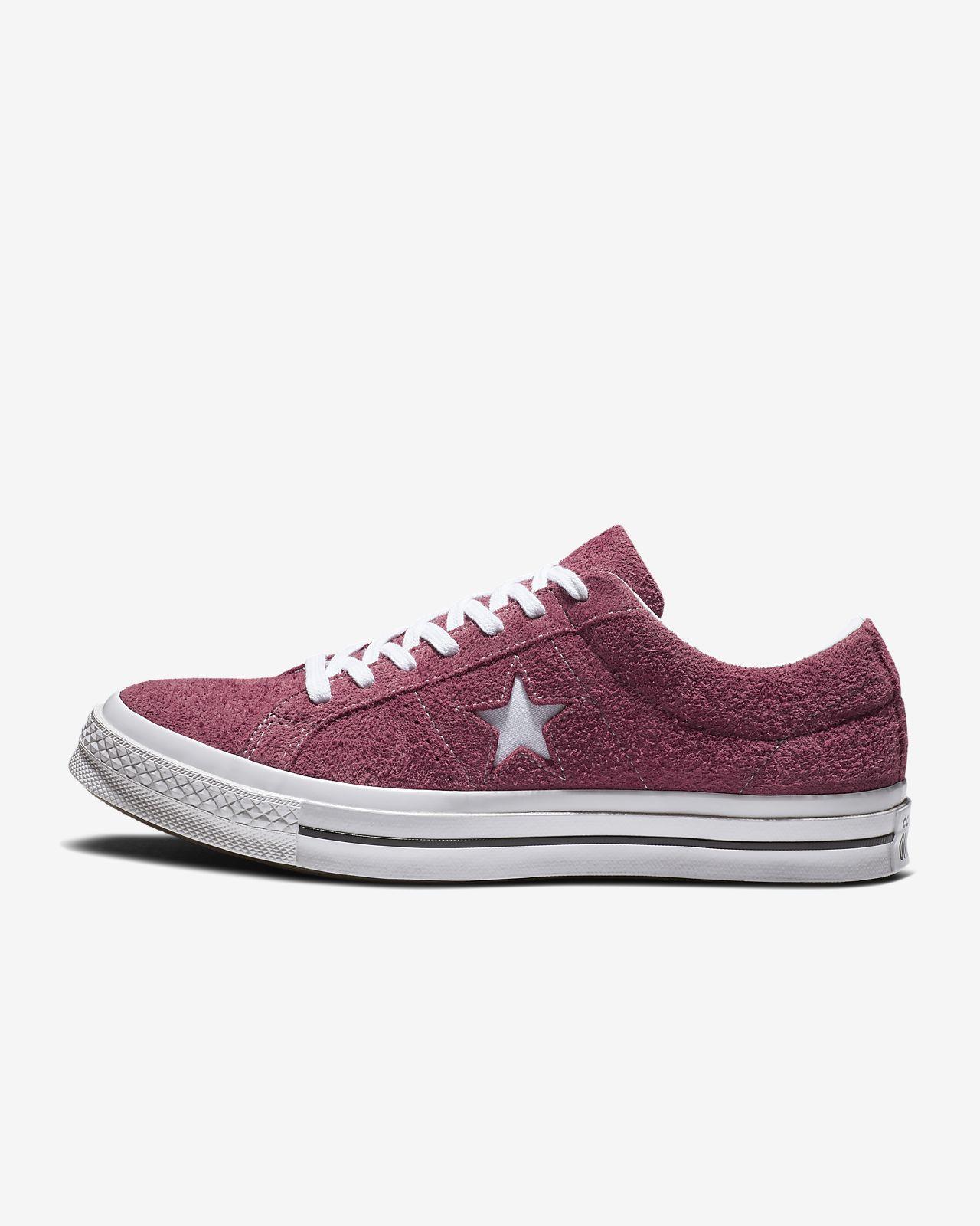 Converse One Star Premium Suede Low Top Men's Shoe