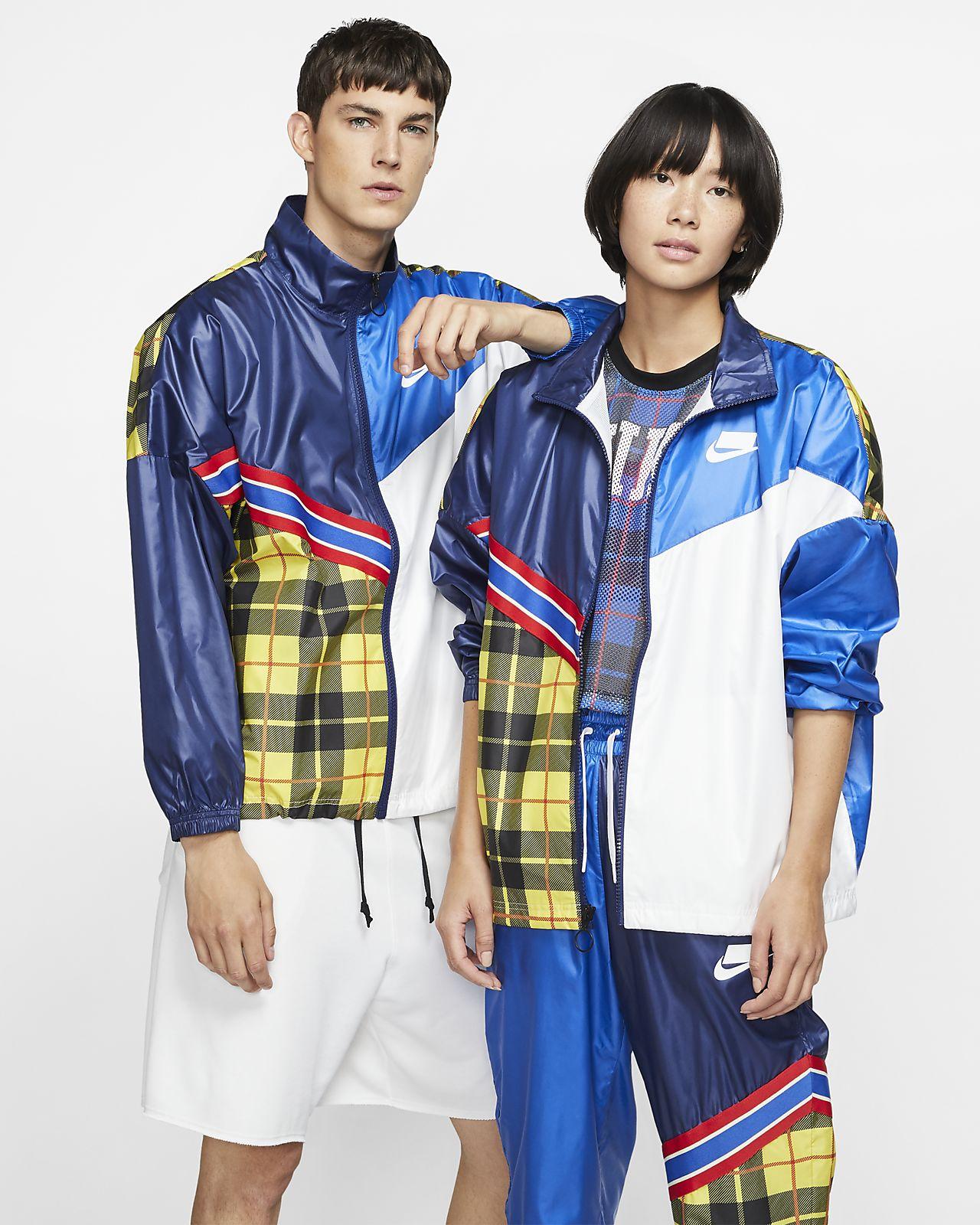 Nike Sportswear NSW Women's Woven Plaid Jacket