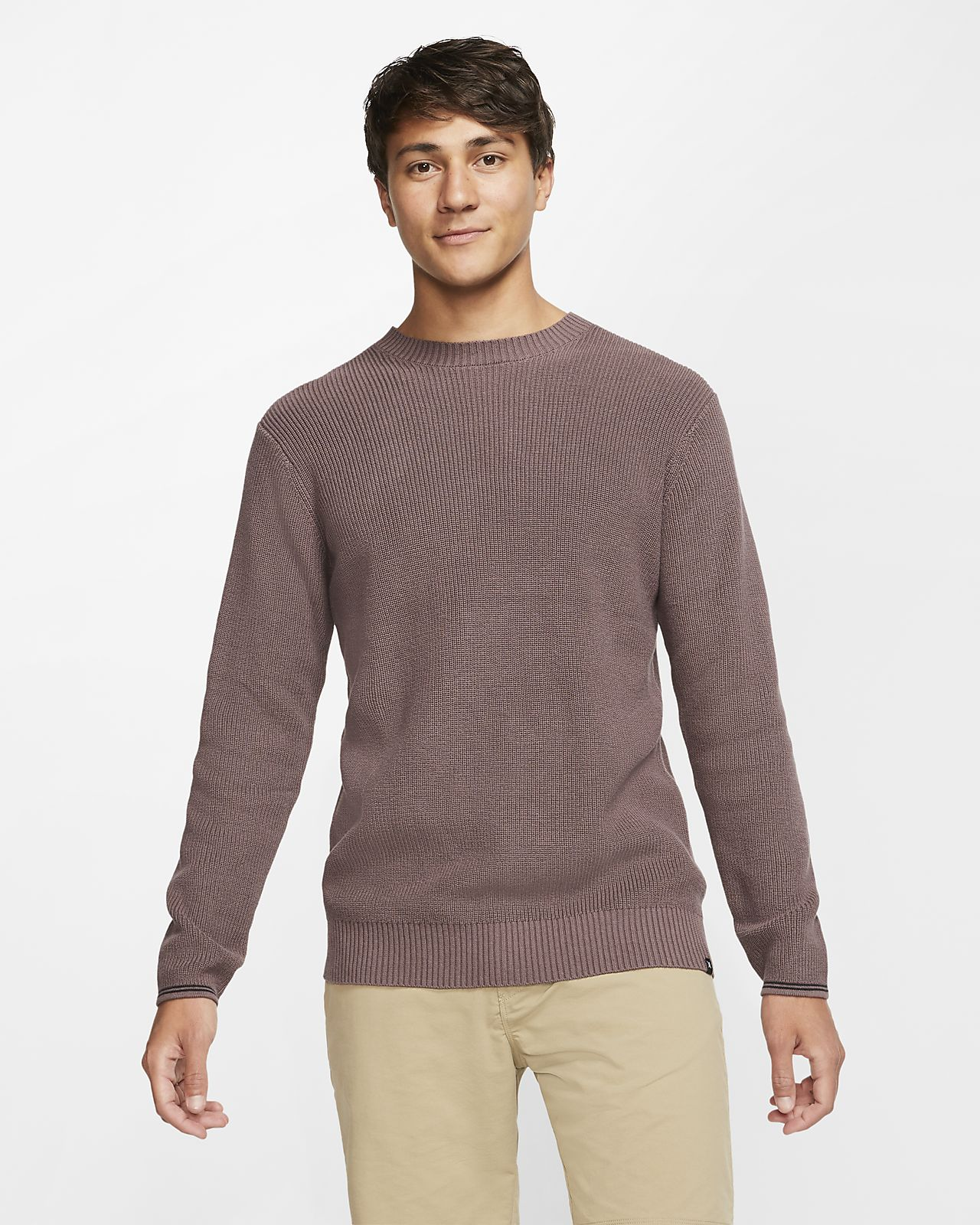 Pull Hurley Rogers Solid pour Homme
