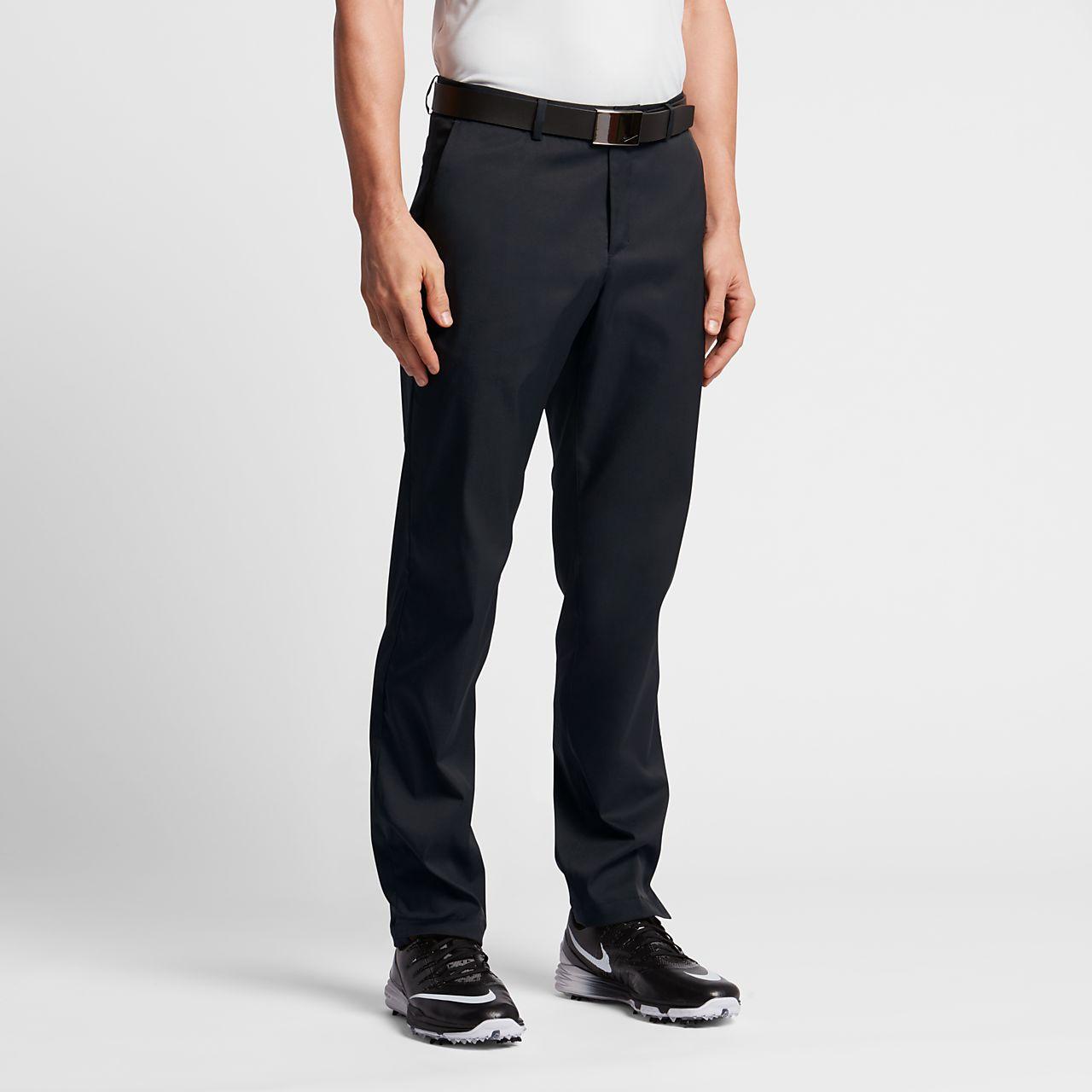 Pánské golfové kalhoty Nike Flat Front. Nike.com CZ e25fa691ff