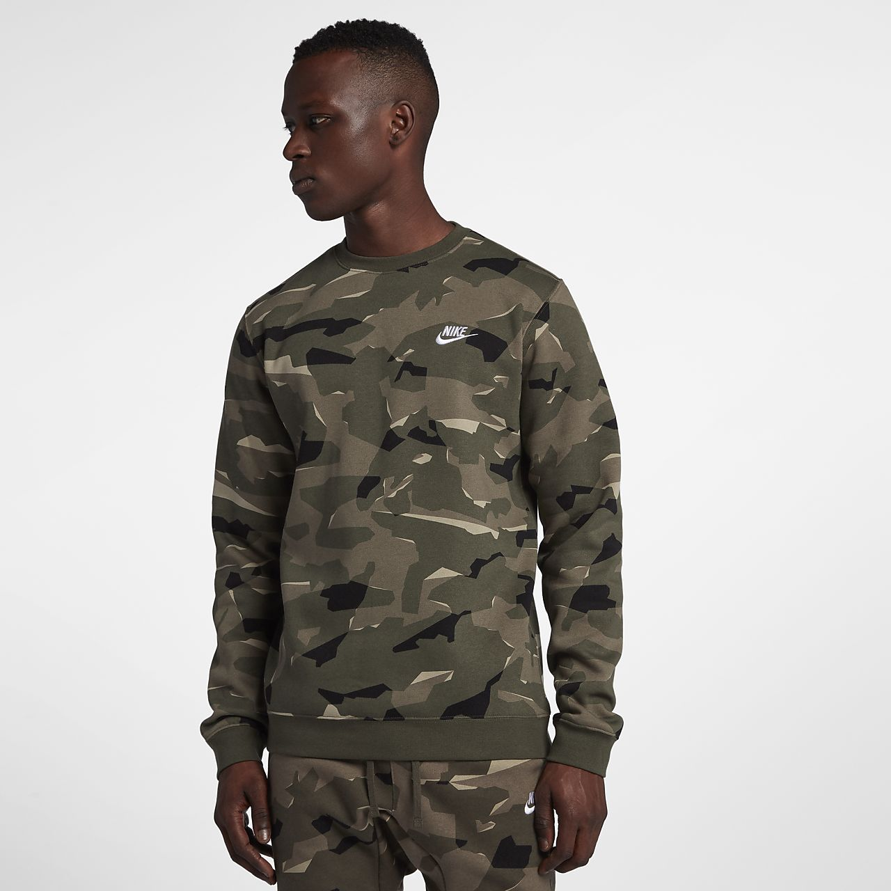 Nike Sportswear 50 Camuflaje De A Hombre Club Sudadera zPqzwaA