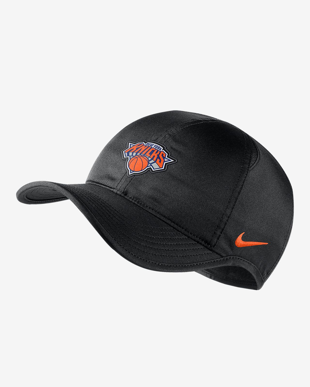 New York Knicks Nike AeroBill Featherlight NBA Hat. Nike.com 8d3fc11cfc68