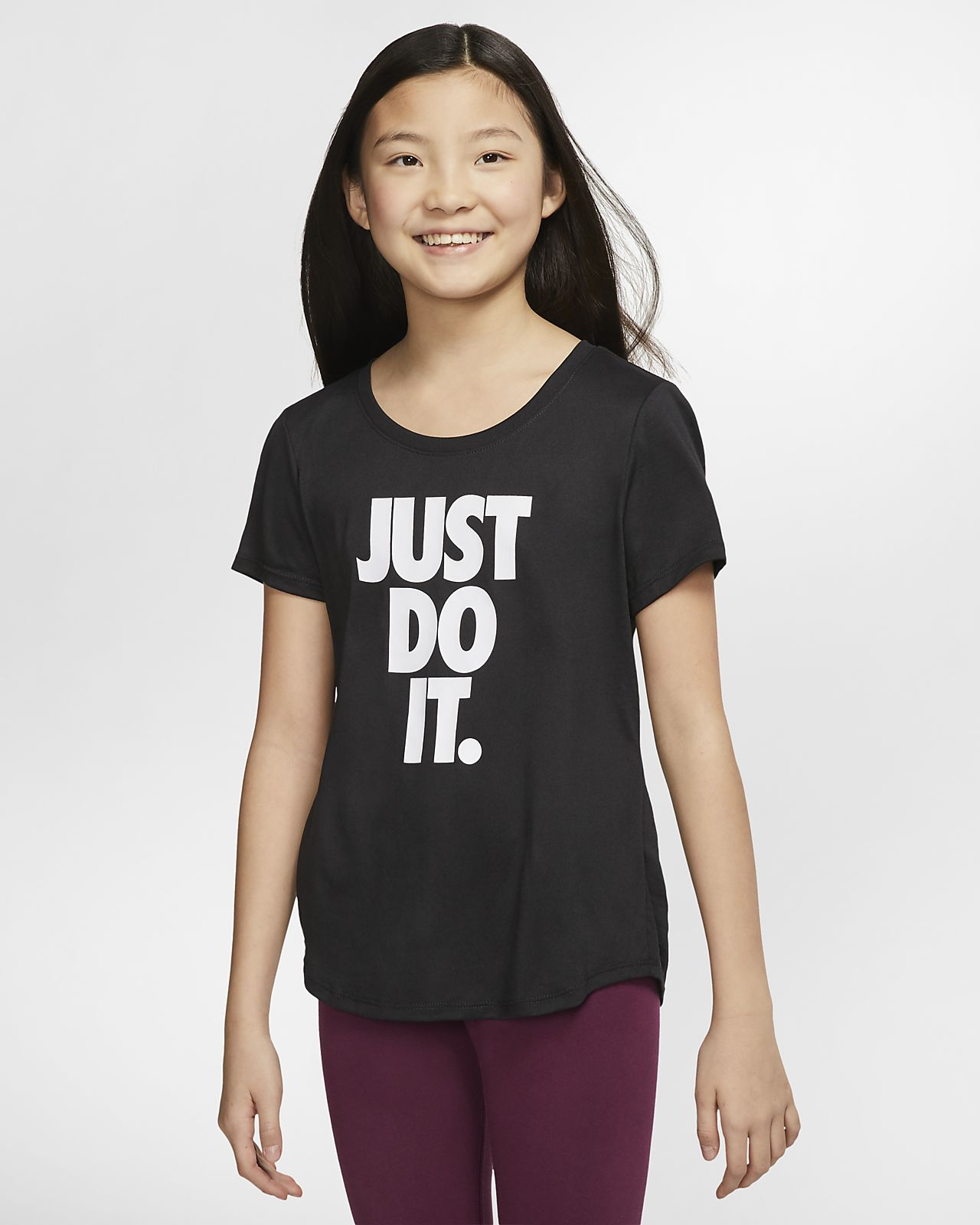 Nike Dri-FIT Big Kids' (Girls') Training T-Shirt