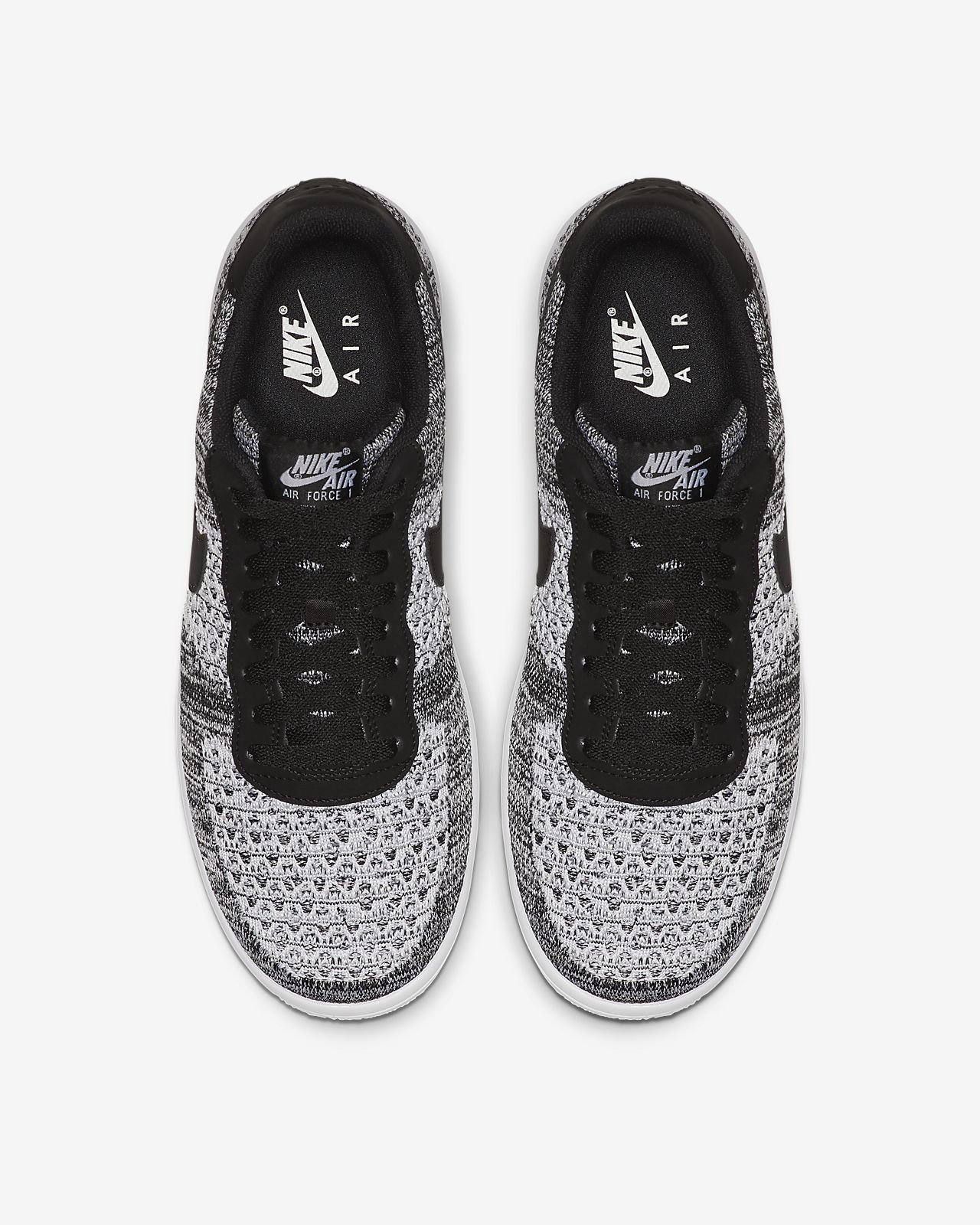 Nike Free Rn Flyknit 2017 Black White Volt Hombre Zapatos