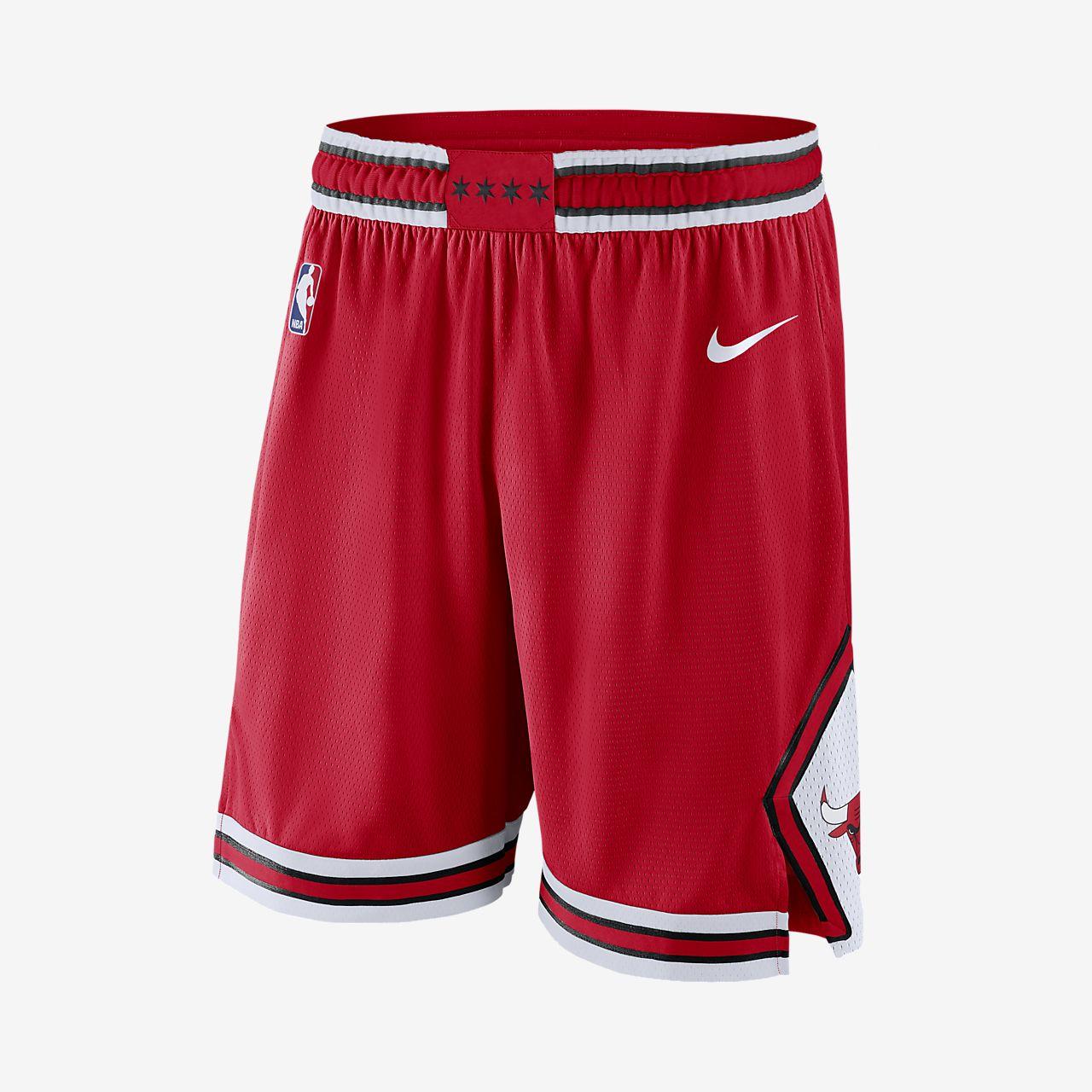 Calções NBA Chicago Bulls Nike Icon Edition Swingman para homem ... 9e963ed208728