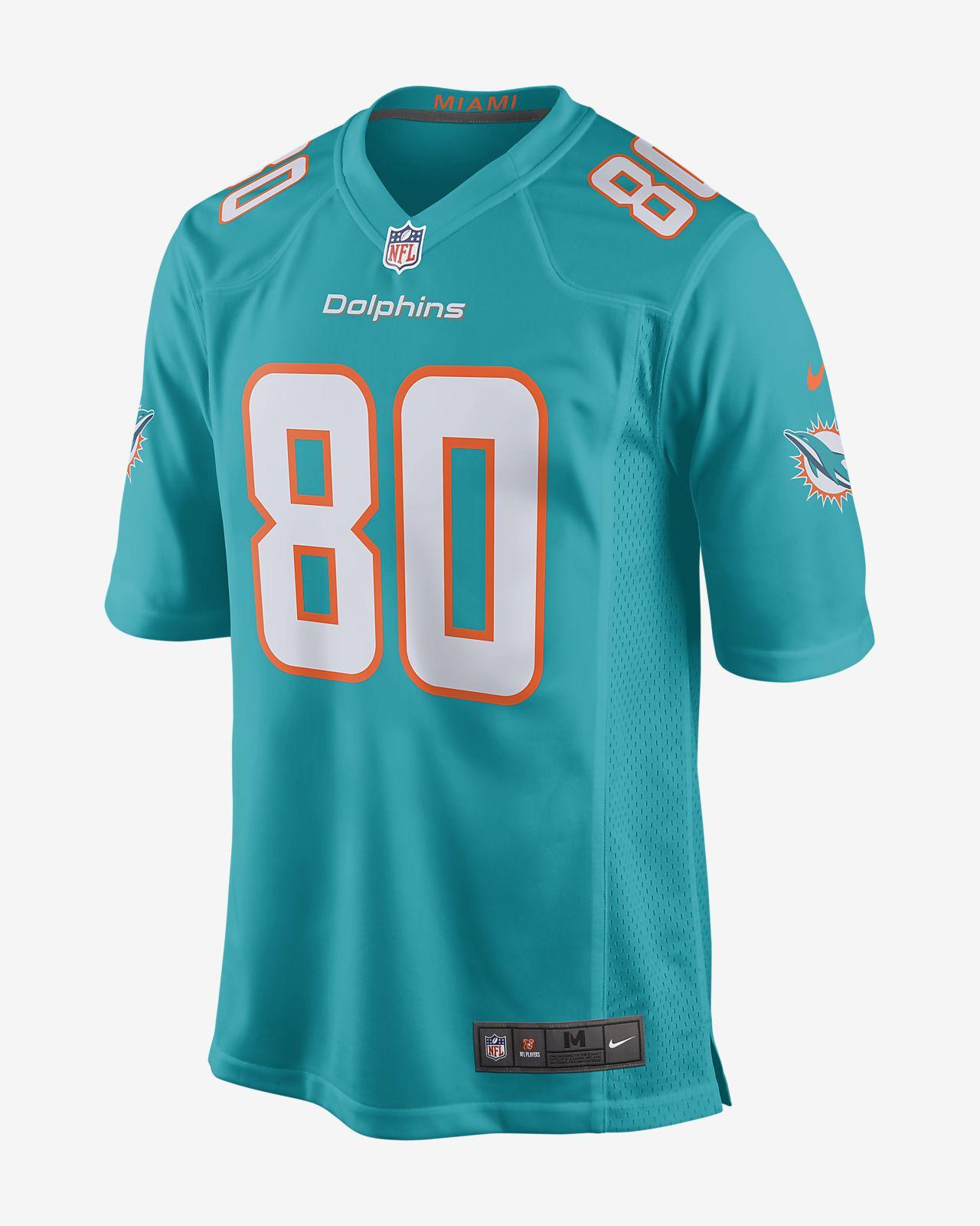 Męska koszulka meczowa do futbolu amerykańskiego NFL Miami Dolphins (Danny Amendola)