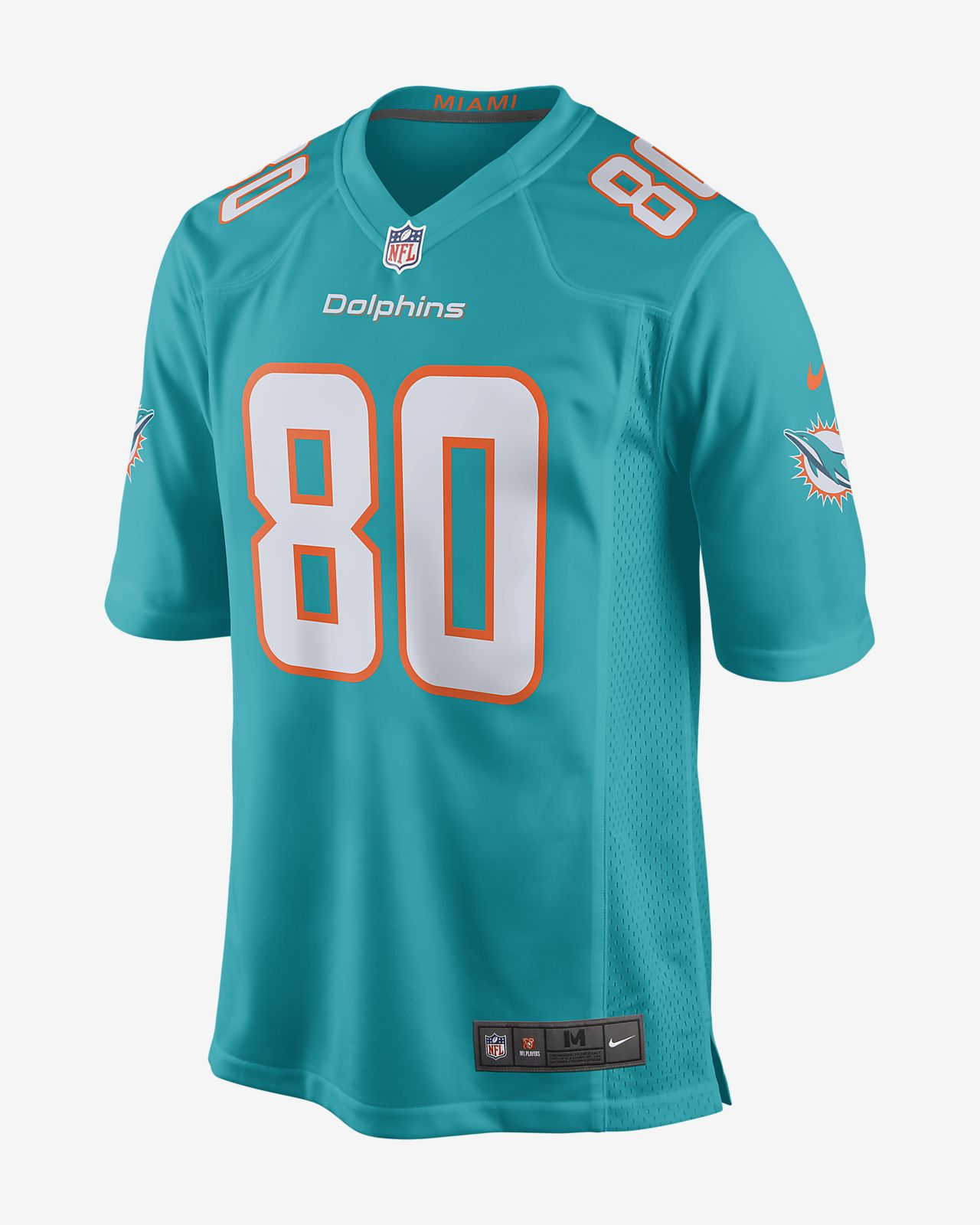 buy popular af40e 110b0 NFL Miami Dolphins (Danny Amendola) Men's Game American Football Jersey