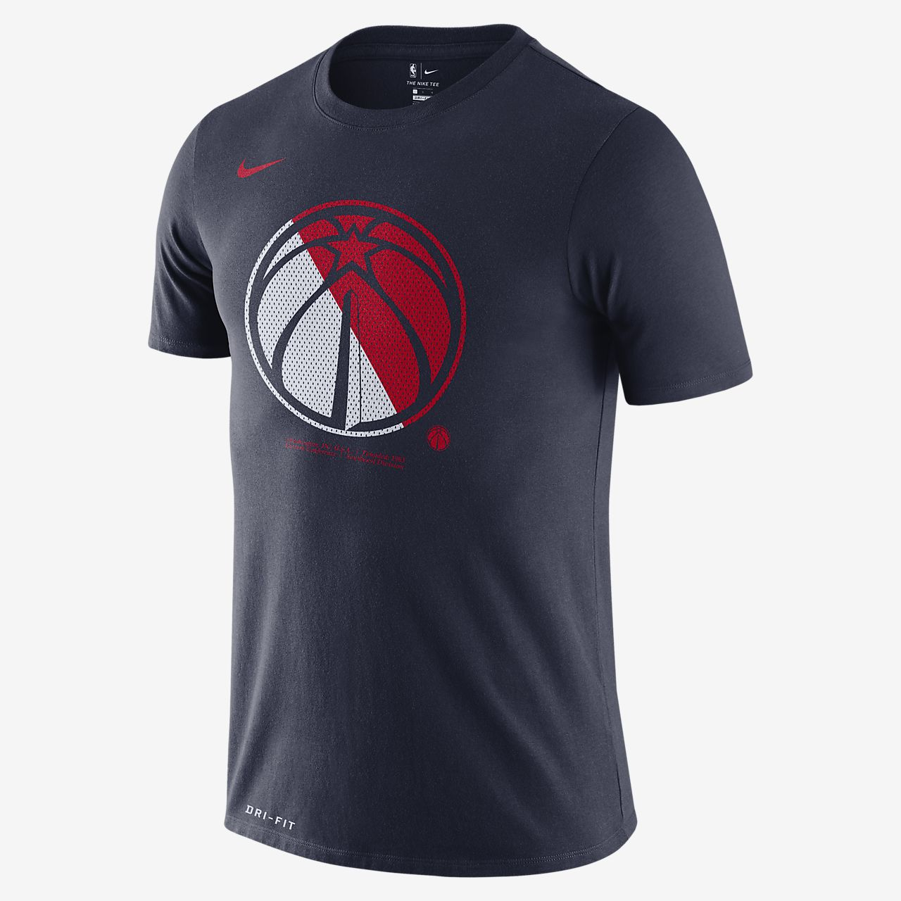 T shirt Washington Wizards Nike Dri FIT NBA Uomo
