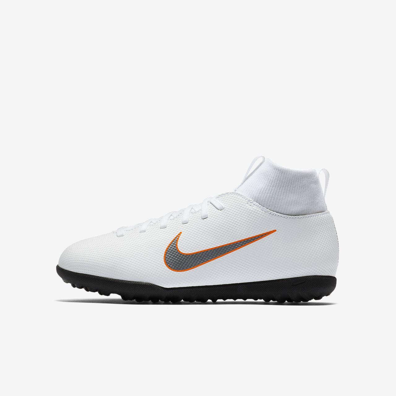 Nike Jr. MercurialX Superfly VI Club TF Botas de fútbol para moqueta ...